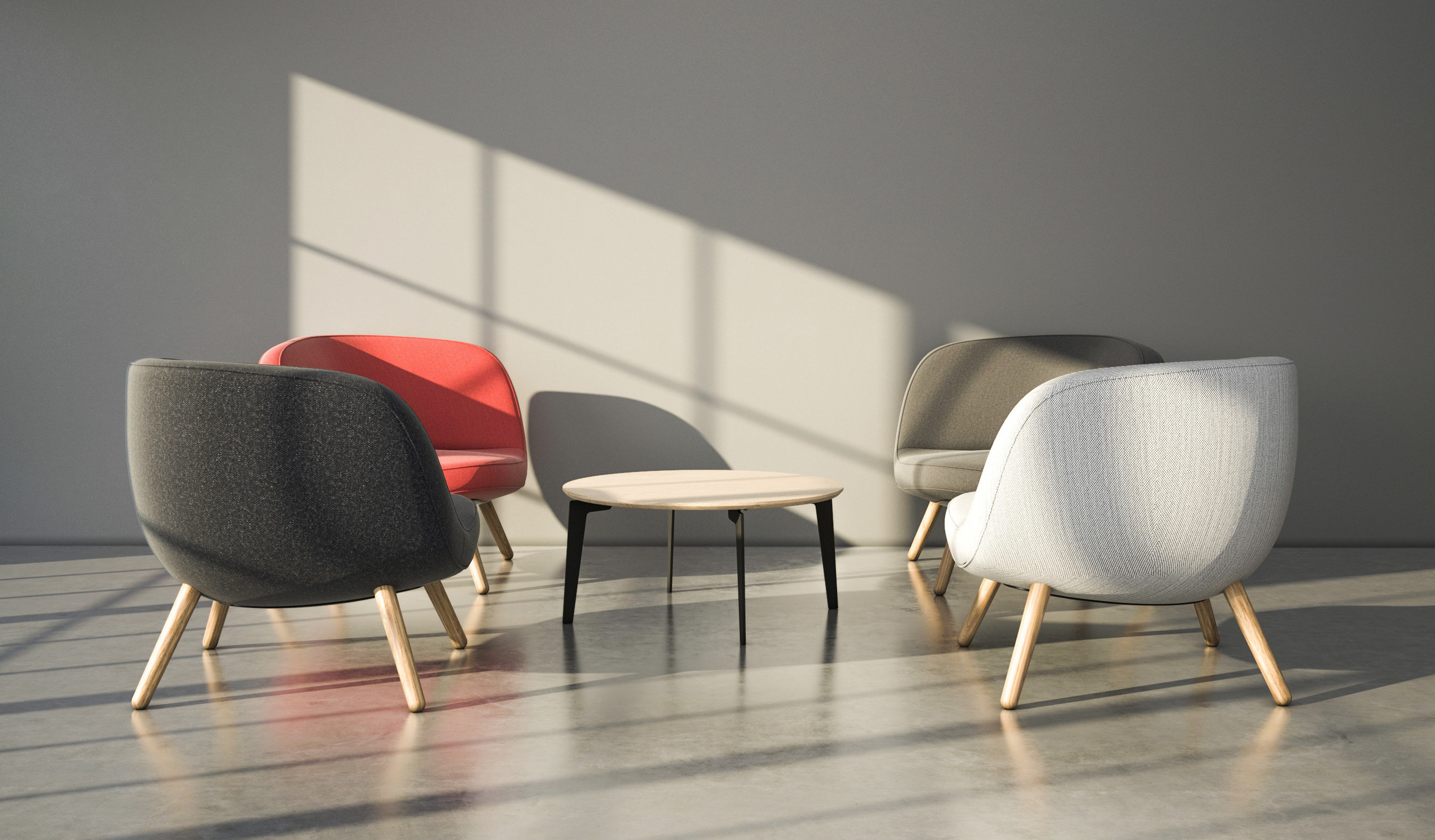 Fritz hansen via57 lounge chair design kibisi for Scandic design