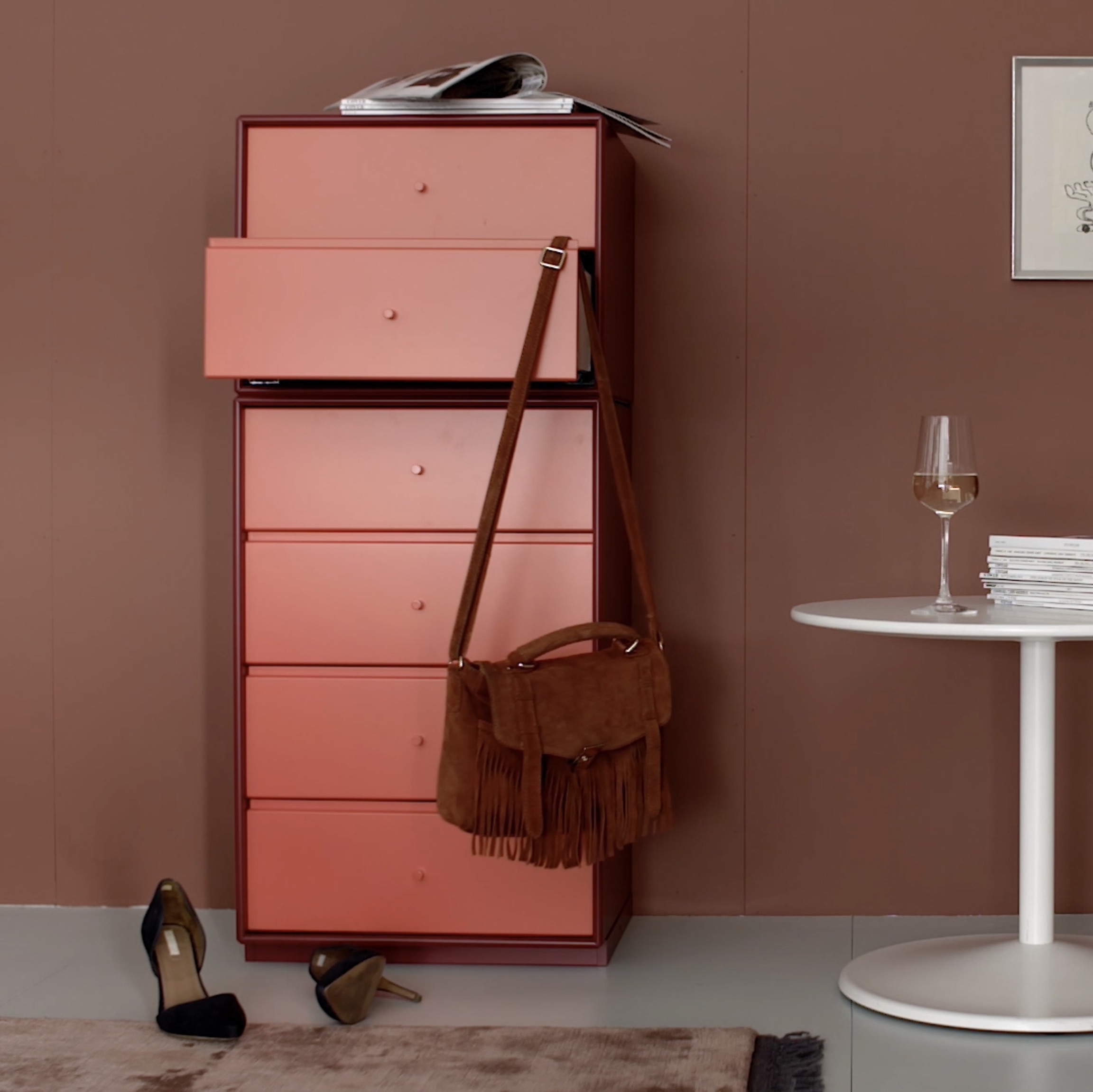 Commode tiroirs archive montana mobilier for Scandic design