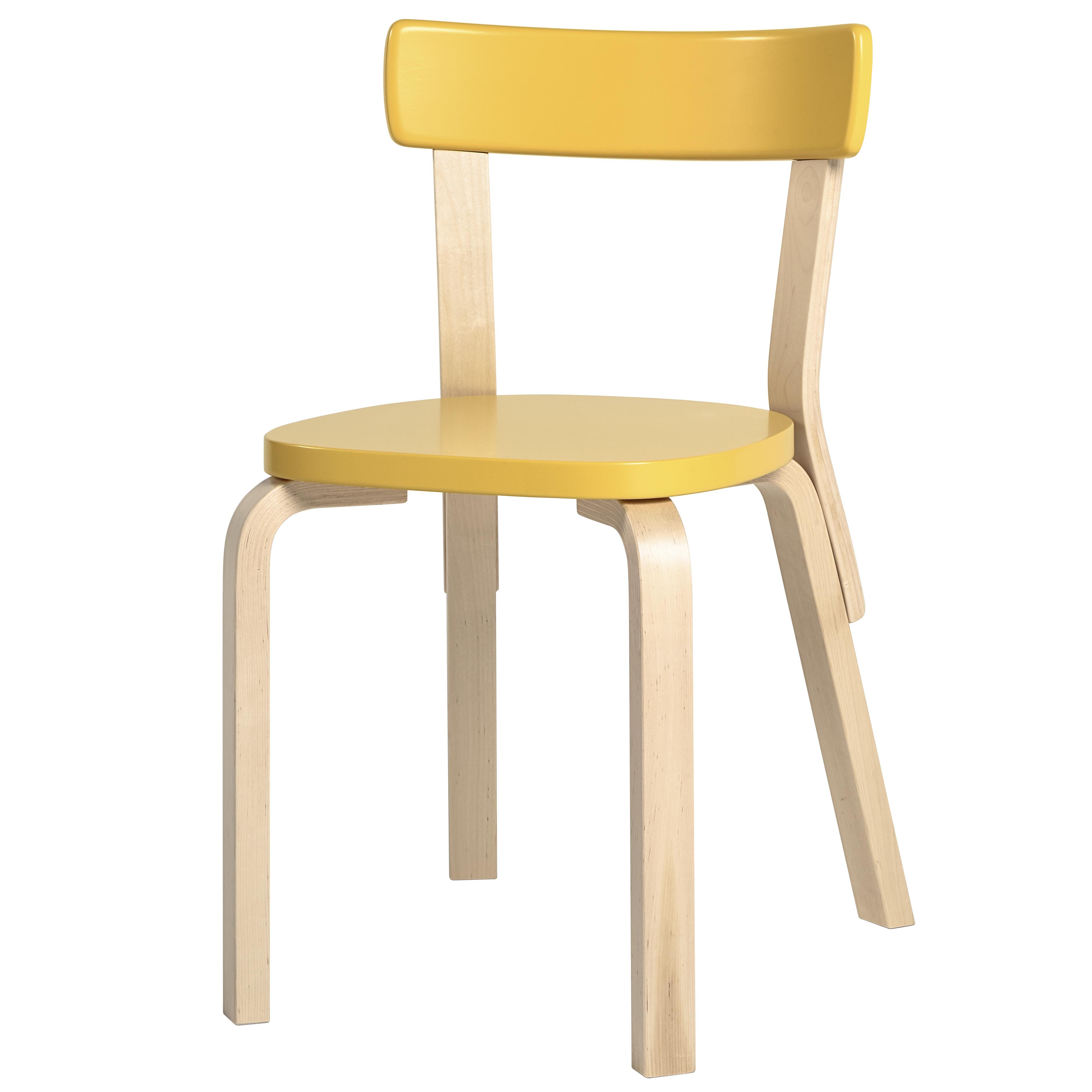 Chair 69 artek design alvar aalto for Alvar aalto chaise