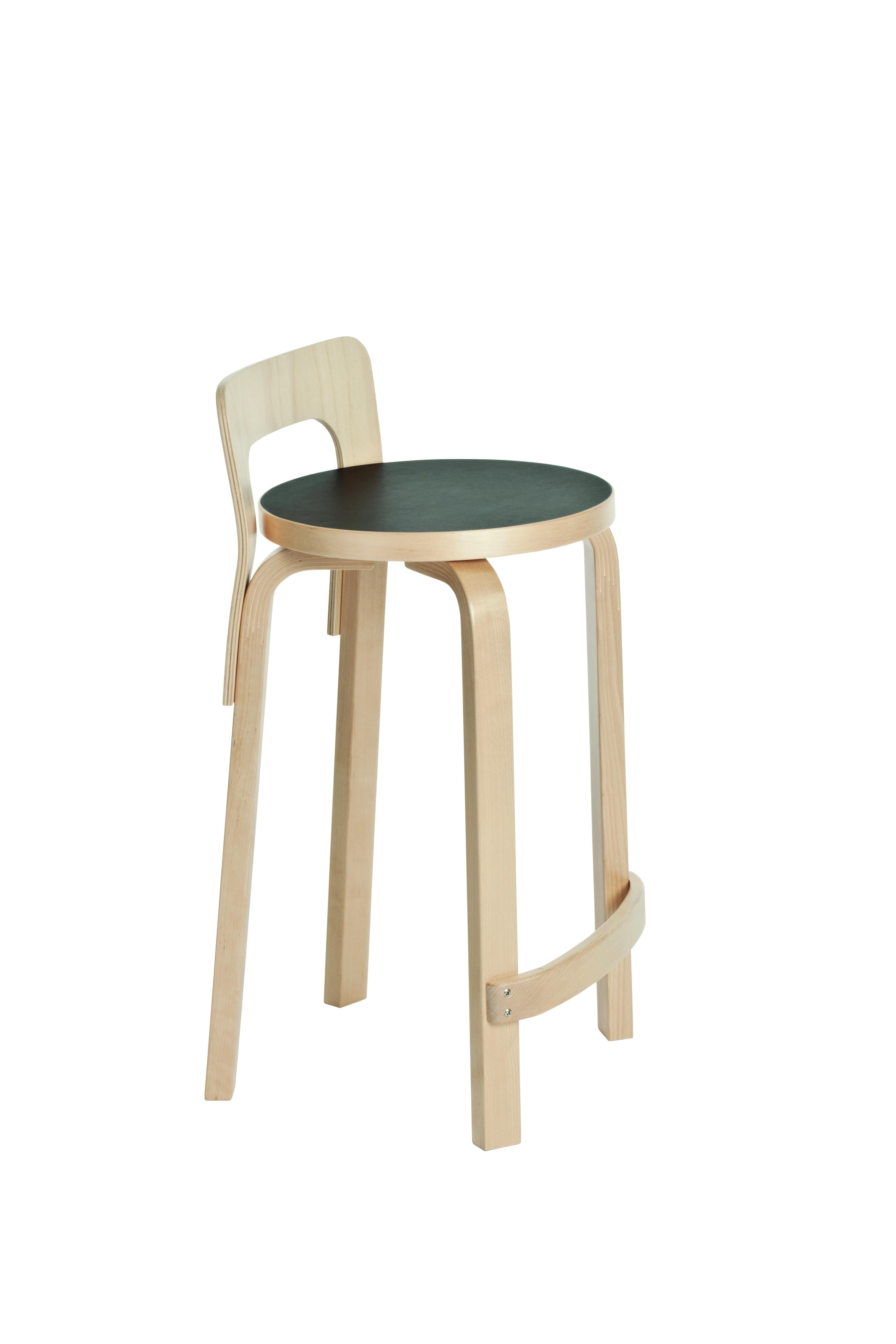 Alvar aalto highchair k65 artek furnitures for Alvar aalto muebles