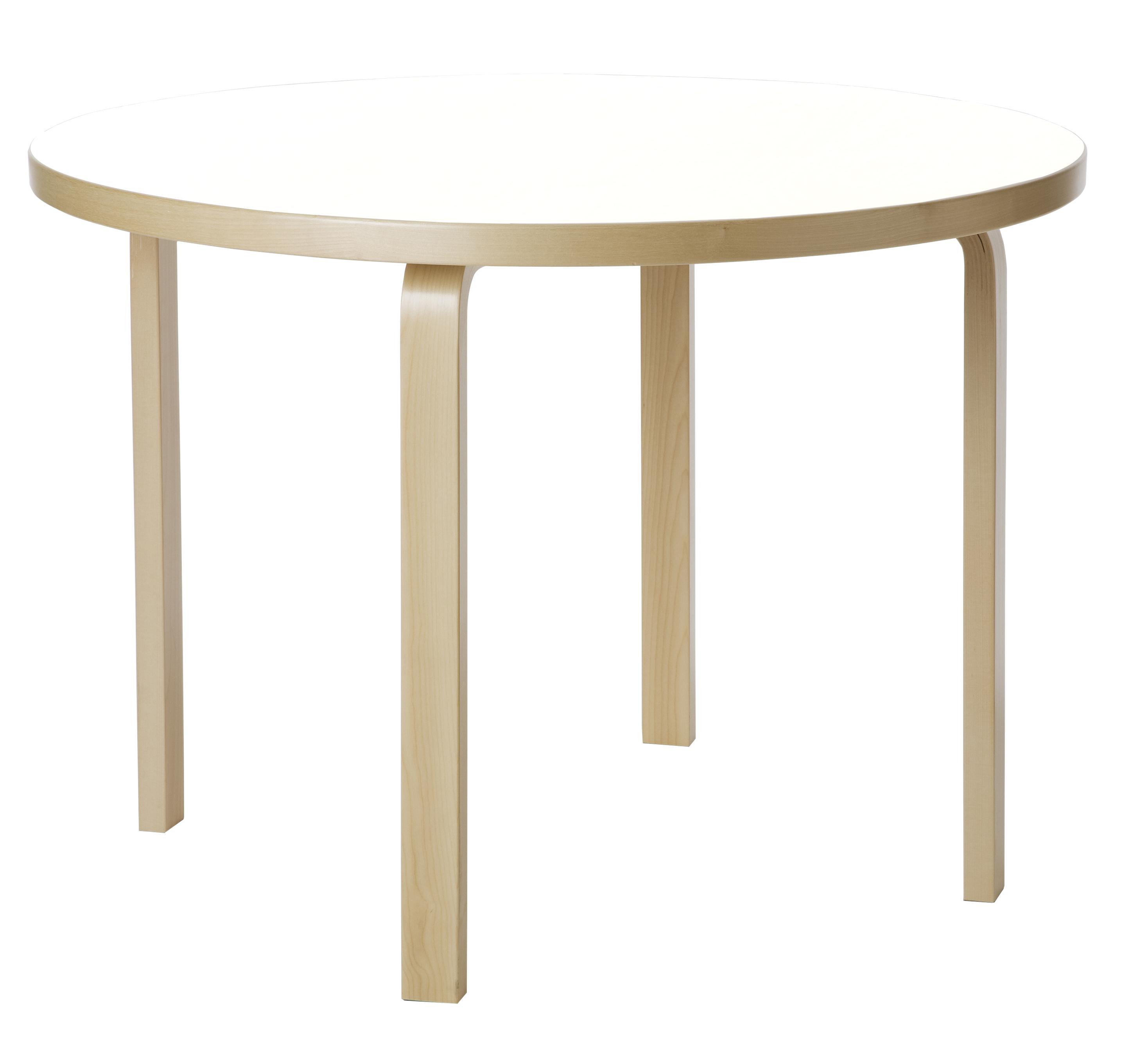 Rondes Artek Aalto Tables 90A90B90C9195 Alvar 2DeWE9HIY