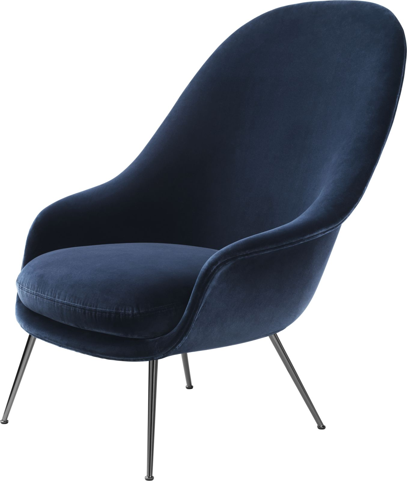 Gubi Bat Lounge Chair Design Gamfratesi