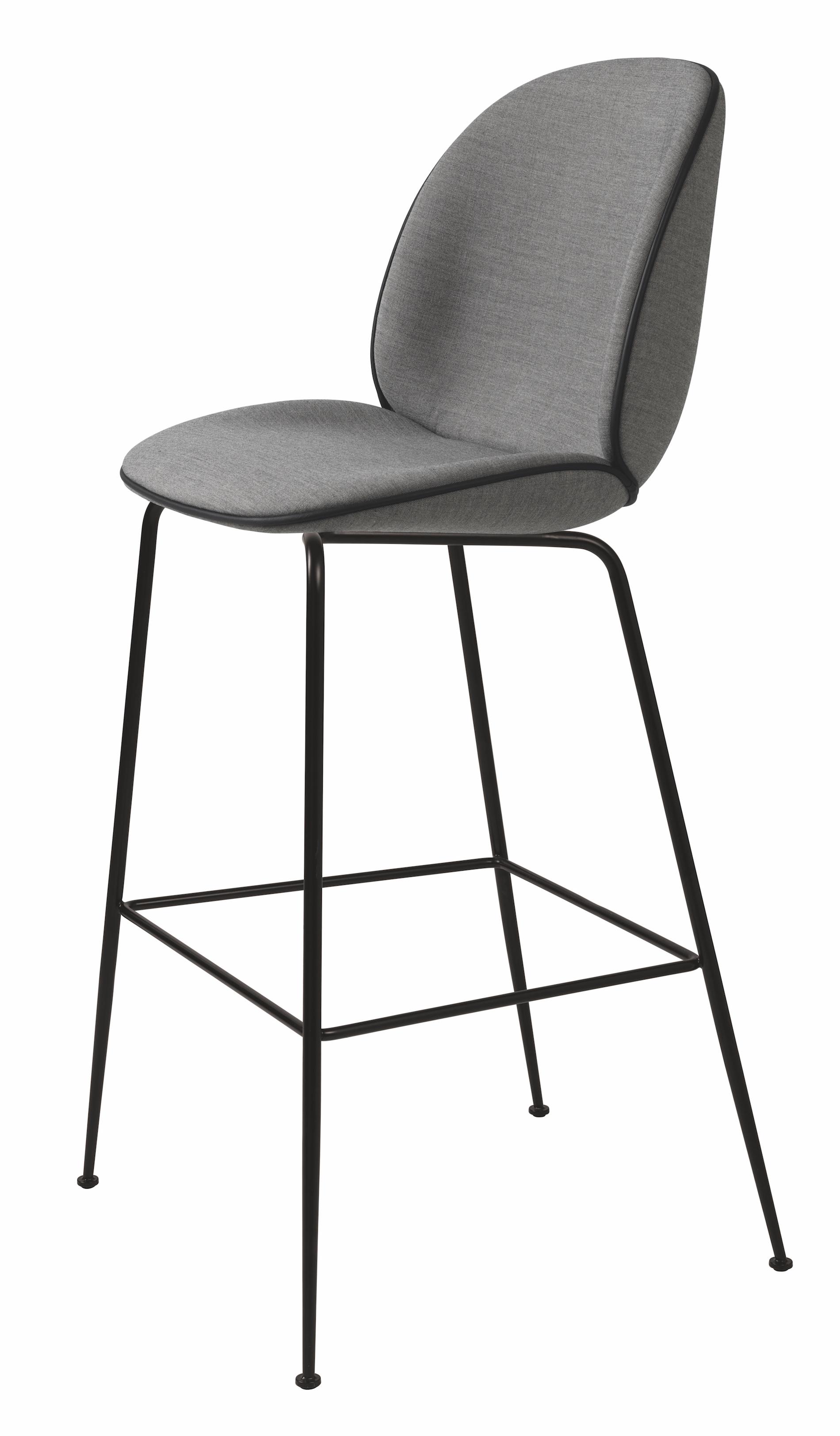 Gubi Beetle Bar Chair design GamFratesi : Beetle20Stool75Remix20colour2014320piping20Black20leatherFront mr from www.scandinavia-design.fr size 1900 x 3246 jpeg 1176kB