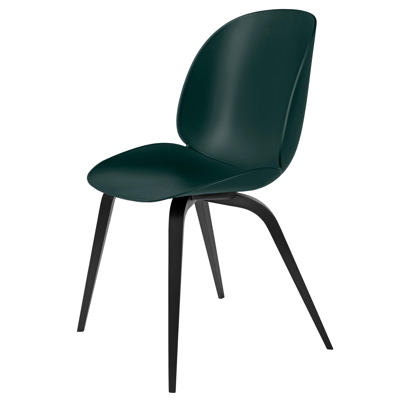 Gubi Beetle Plastic Chair Wooden Legs Gamfratesi