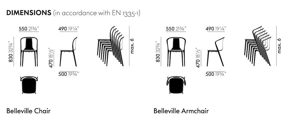 RonanErwan Vitra Belleville Vitra Vitra plastic Belleville plastic chairarmchair chairarmchair RonanErwan mPvN0wy8On