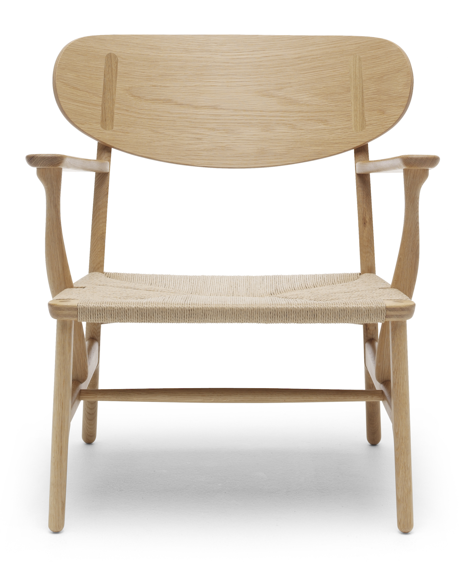 CH22 Lounge Chair Hans J Wegner Carl Hansen & Son