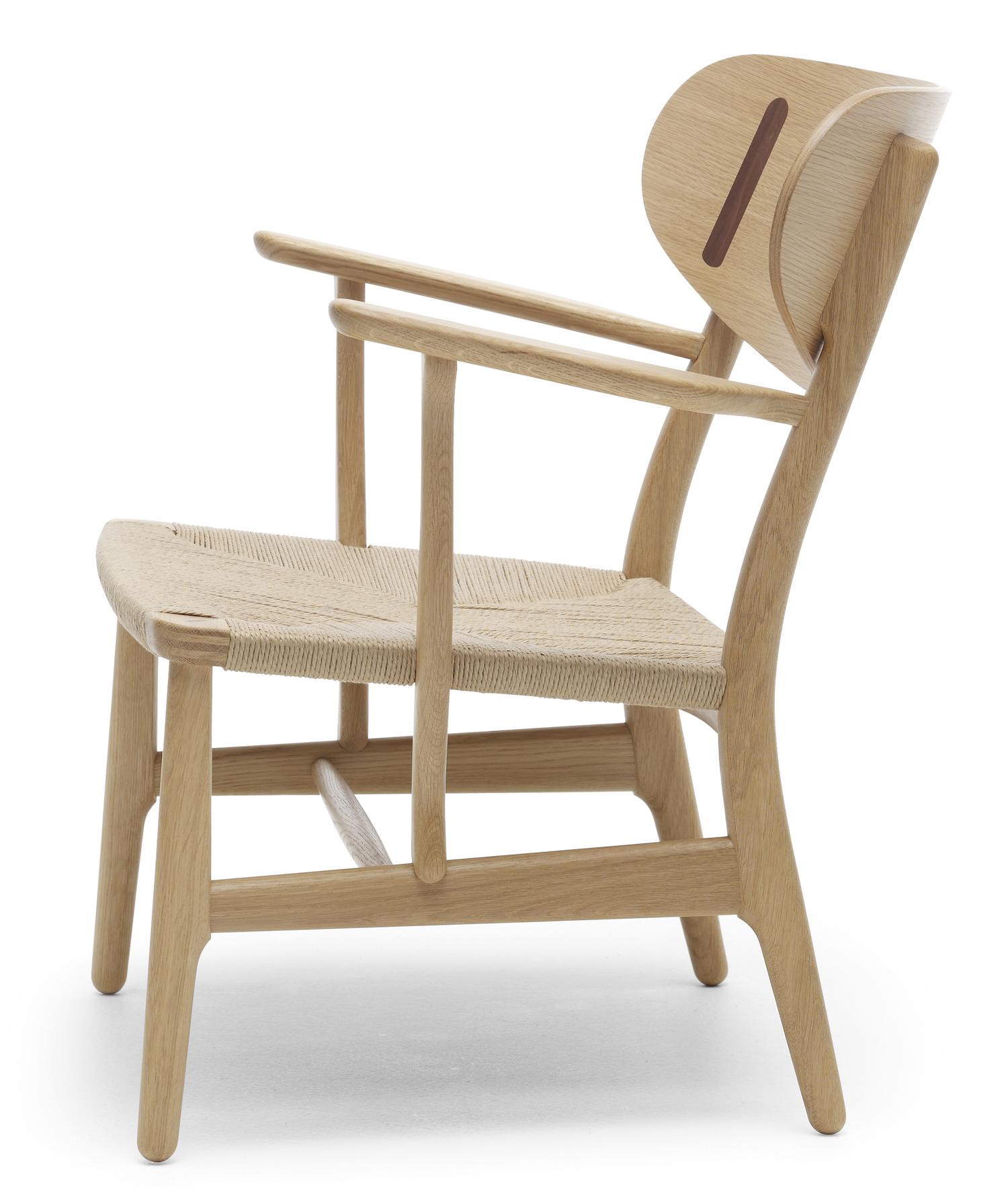 Carl hansen s n ch22 lounge chair design hans j wegner for Danish design stuhl