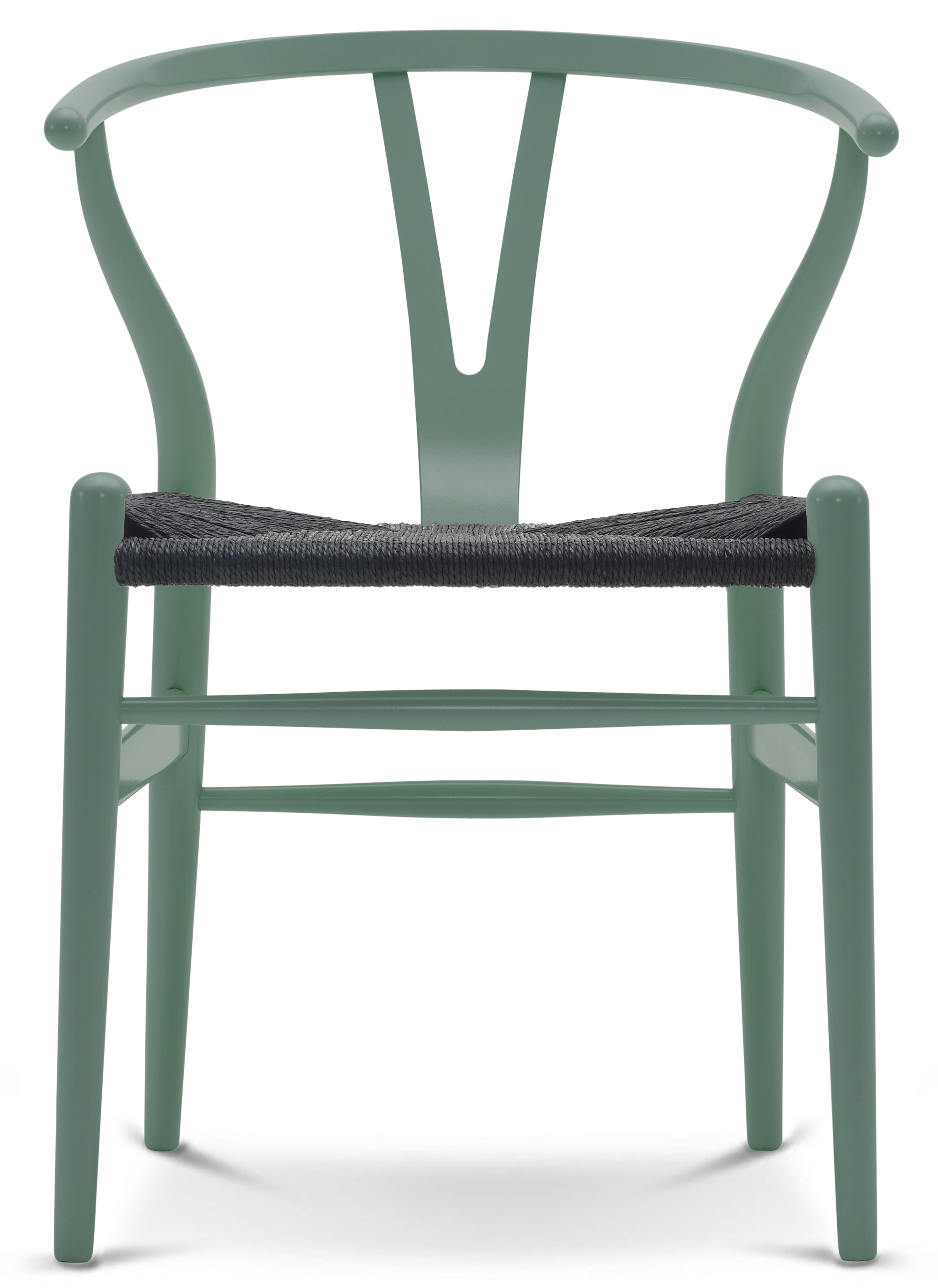 wishbone chair ch24 painted color carl hansen son. Black Bedroom Furniture Sets. Home Design Ideas