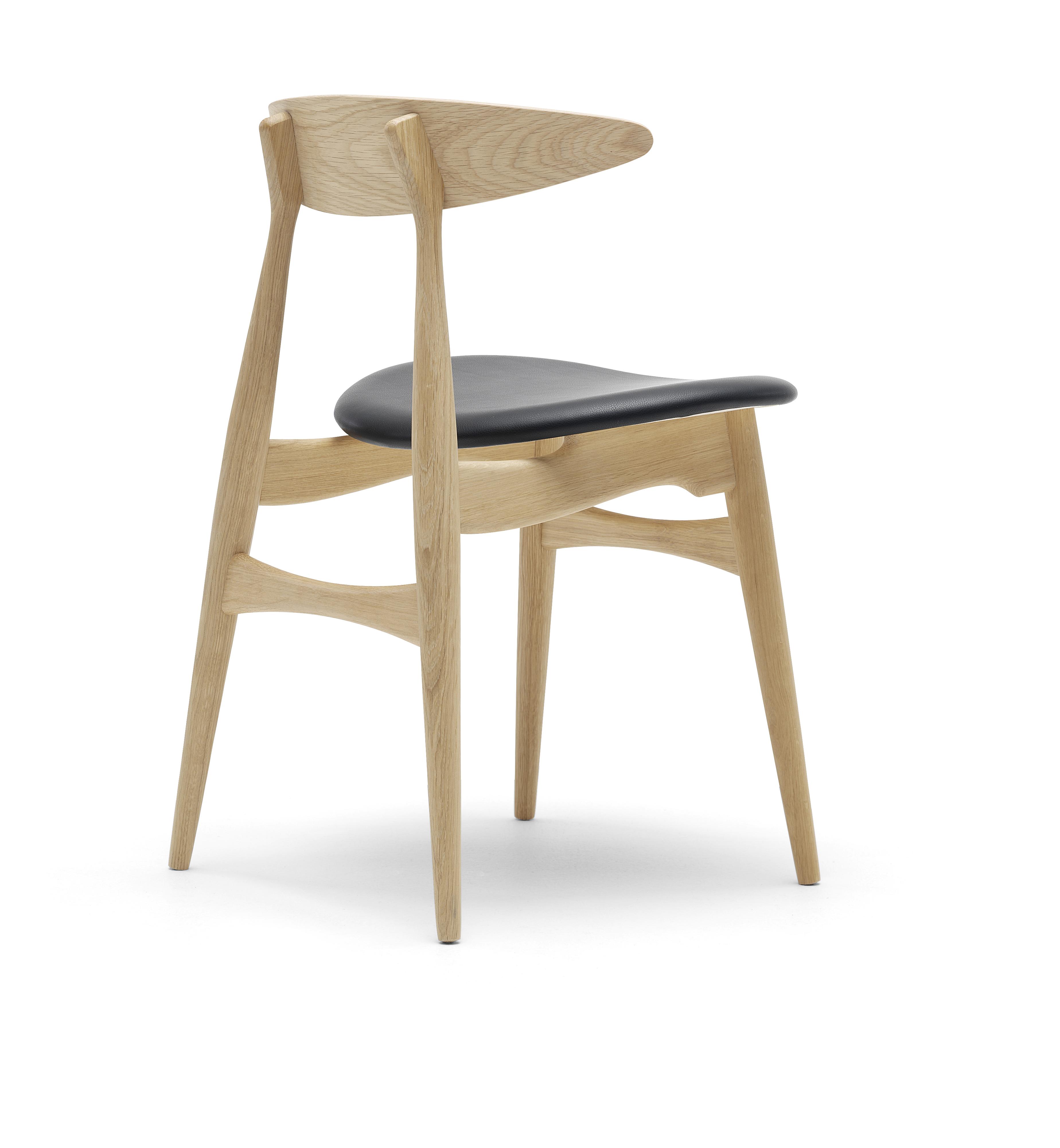 chaise ch33 carl hansen son. Black Bedroom Furniture Sets. Home Design Ideas