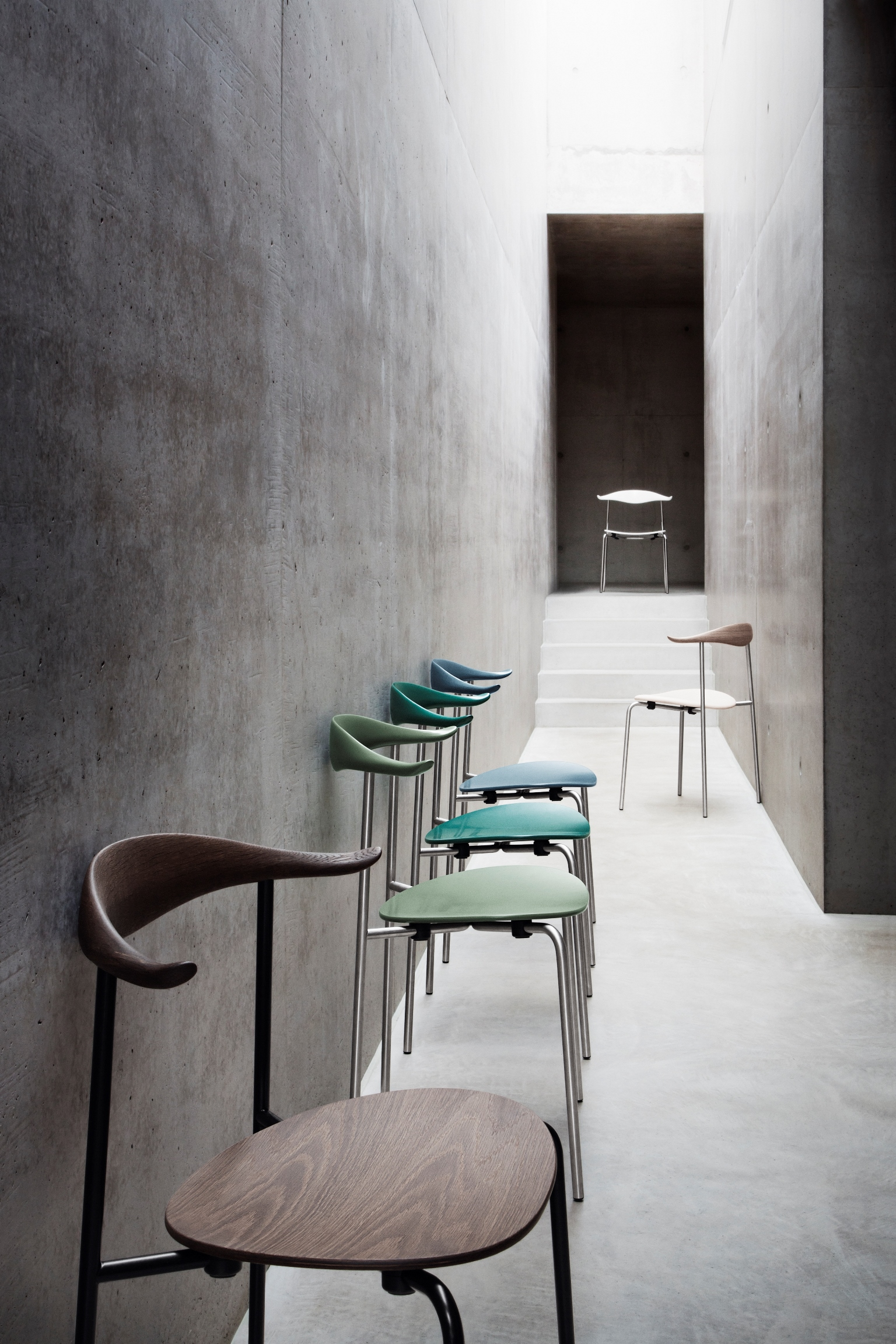 Carl hansen s n chaise ch88t assise bois hans wegner for Scandic design