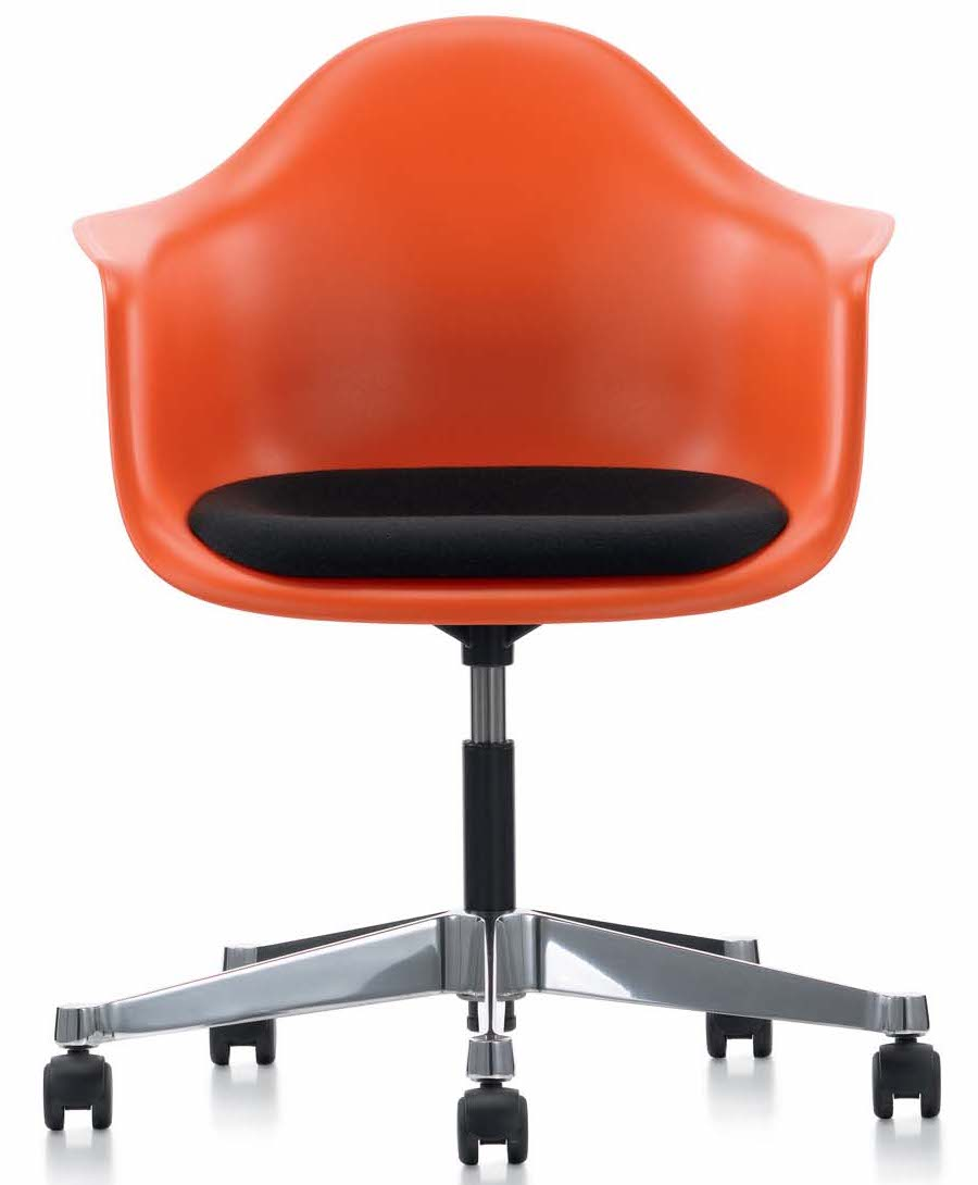 Vitra Eames Plastic Armchair Pacc And Chair Pscc