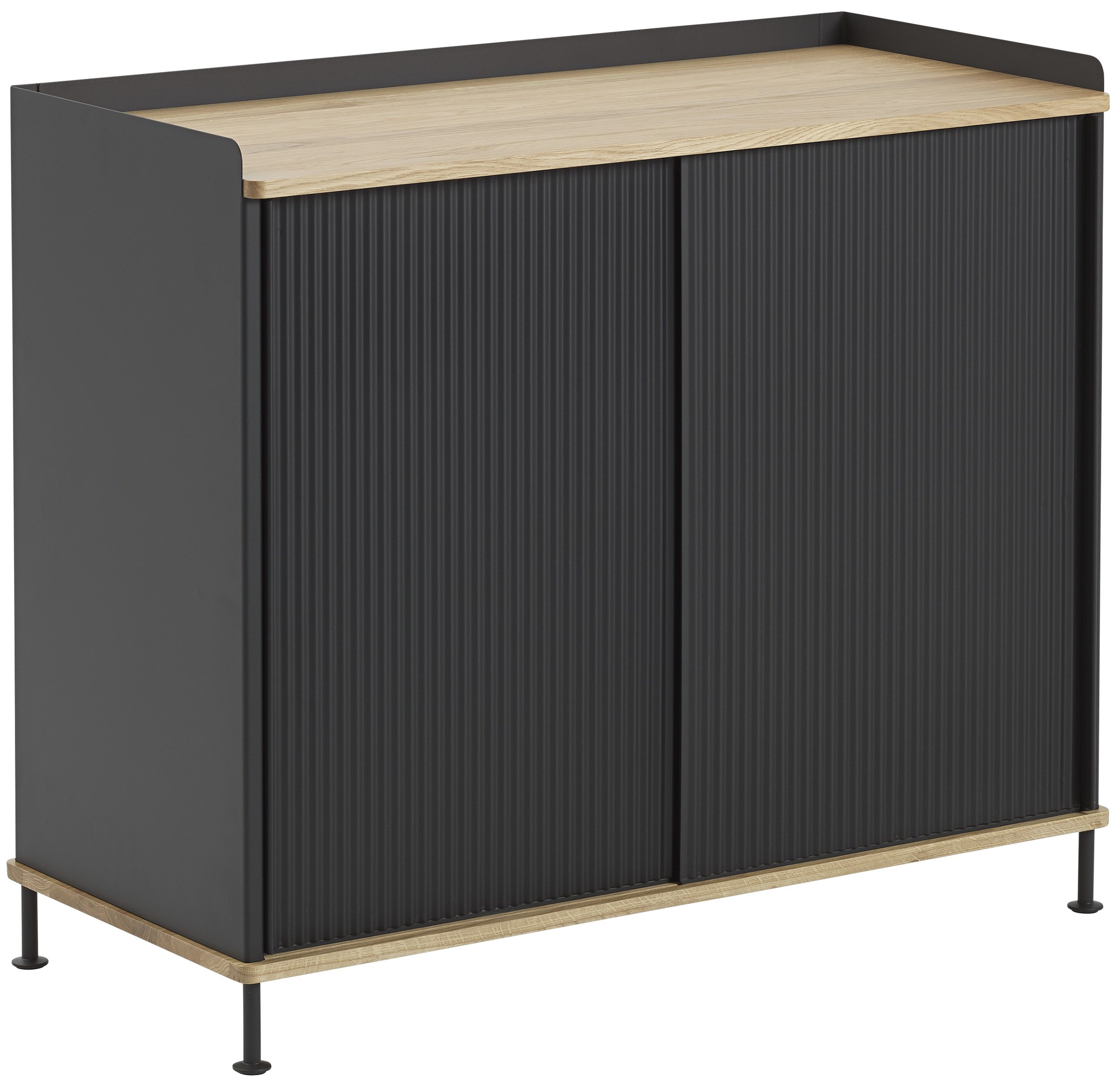muuto enfold sideboard design thomas bentzen 2018. Black Bedroom Furniture Sets. Home Design Ideas