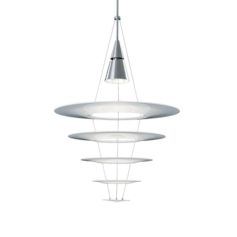 Topmoderne Louis Poulsen – aluminium Enigma pendants – design Shoichi ED-81