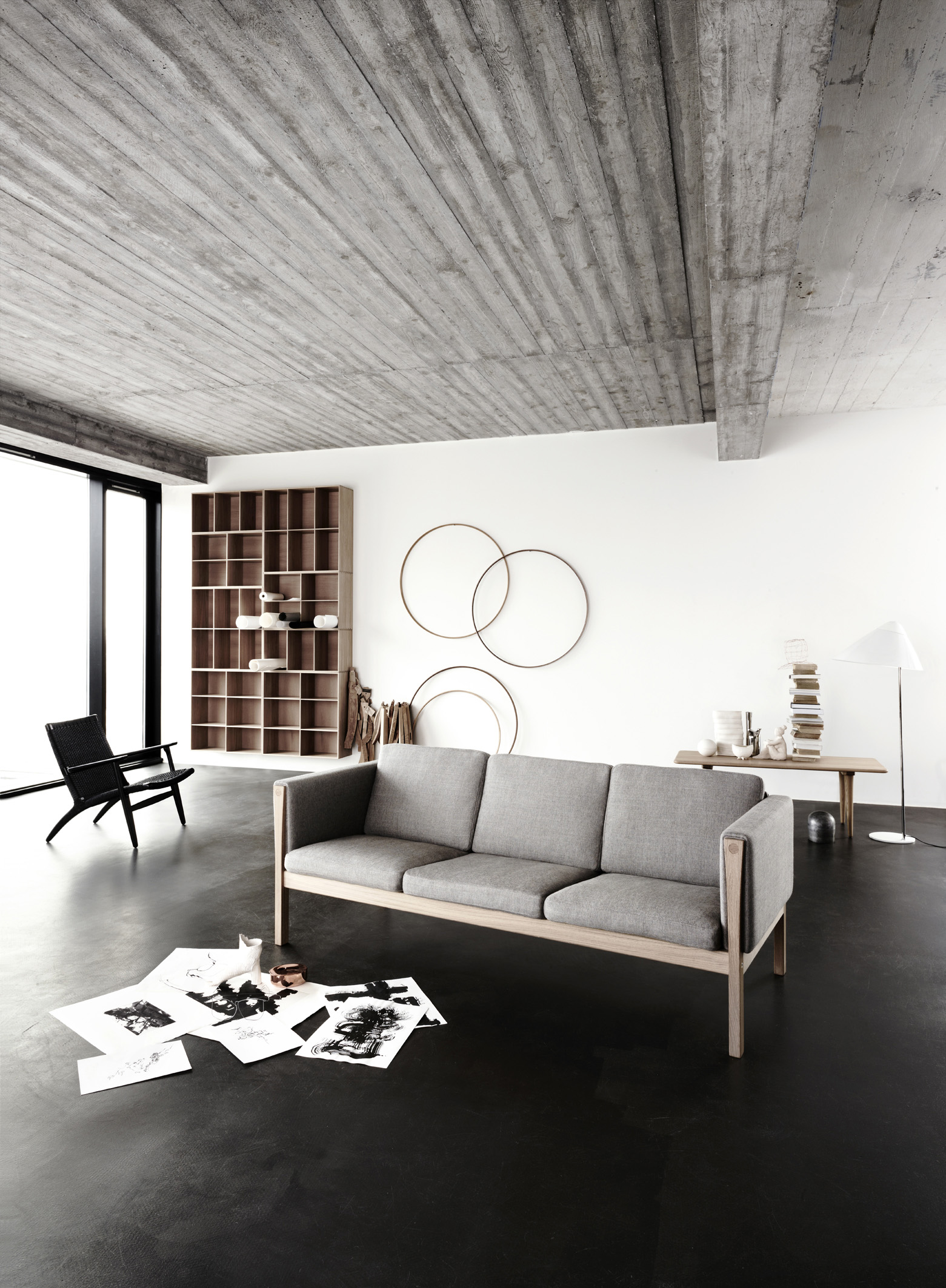 carl hansen son sofas ch162 and ch163. Black Bedroom Furniture Sets. Home Design Ideas