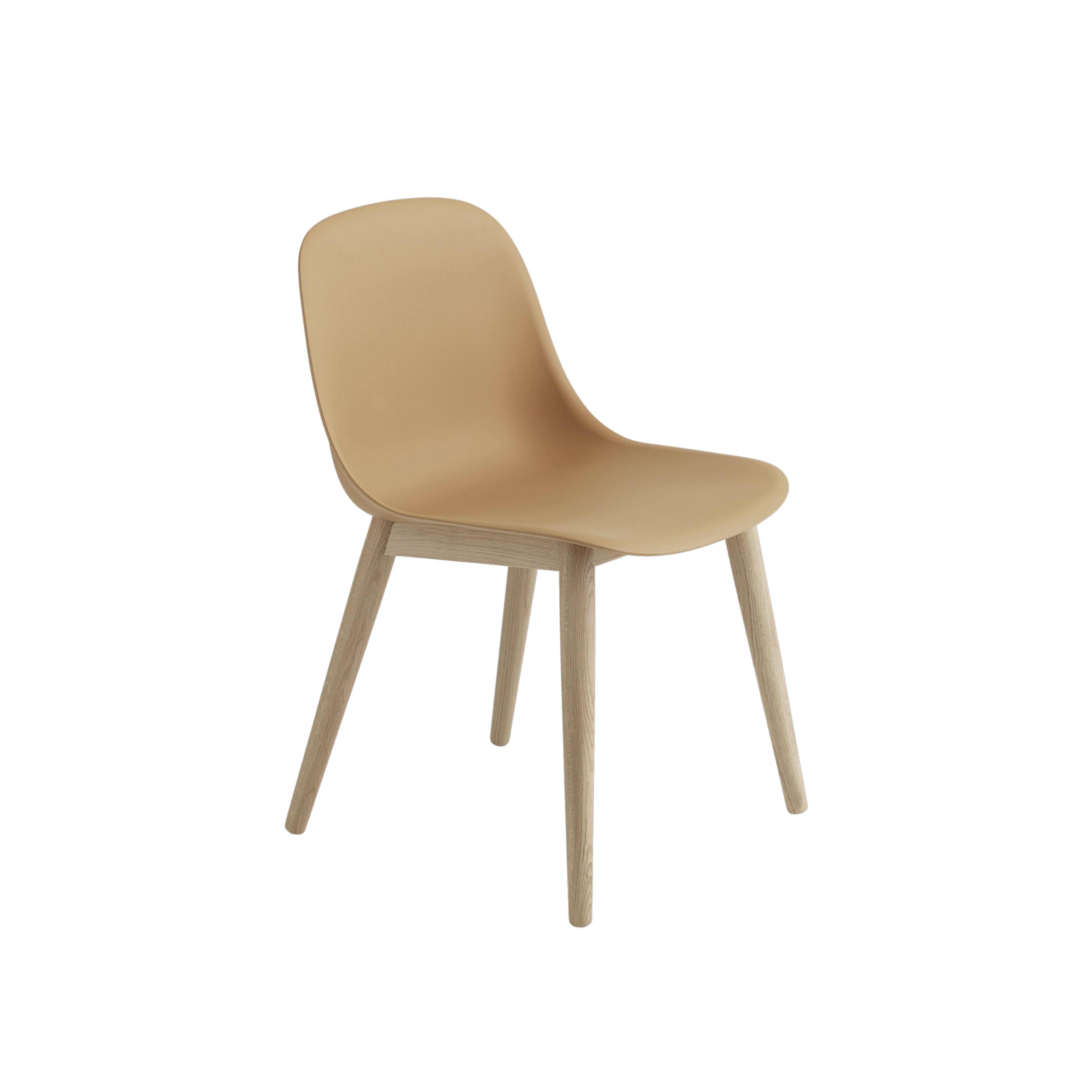 muuto fiber side chair wooden base. Black Bedroom Furniture Sets. Home Design Ideas