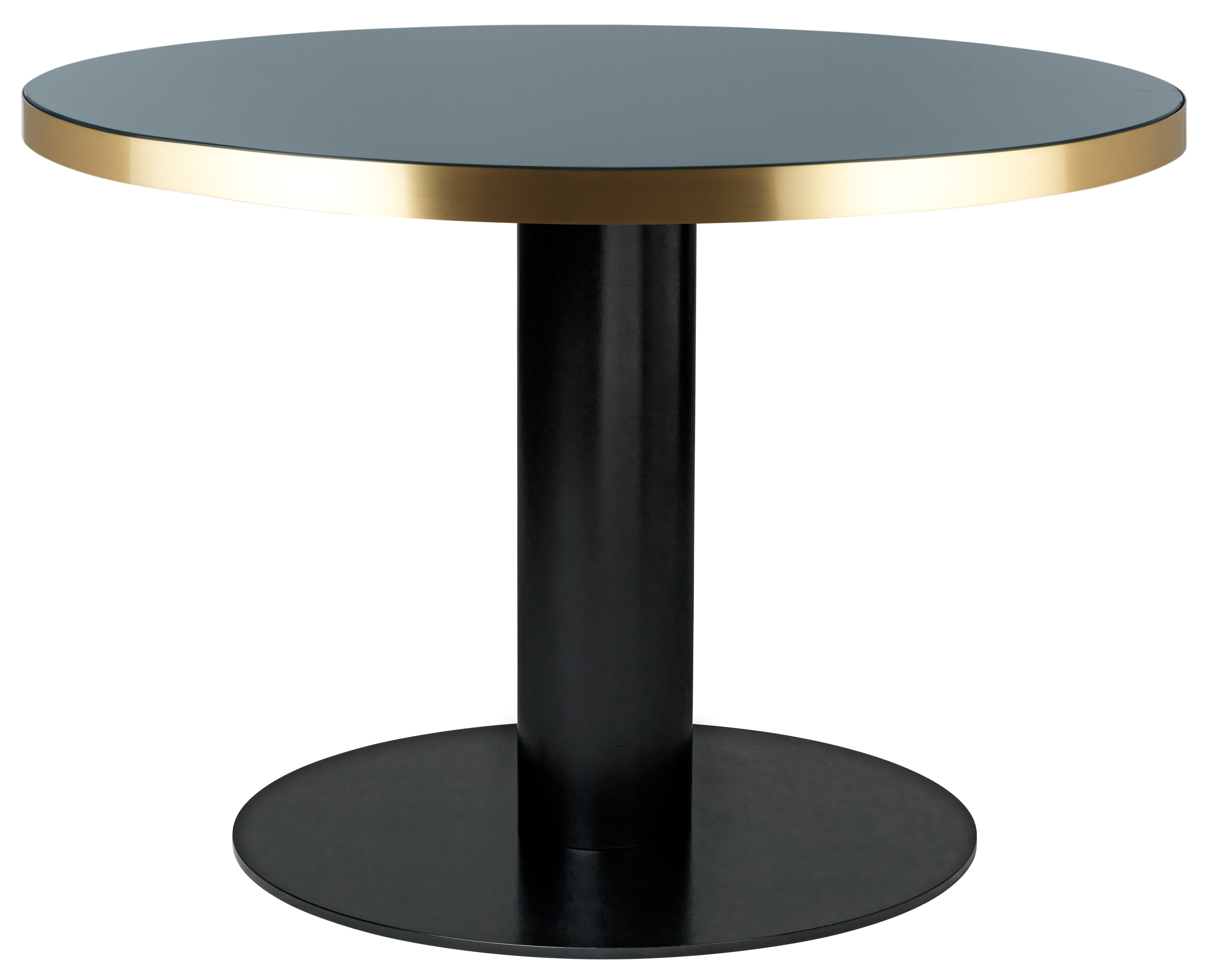 tables rondes gubi 2 0 plateau en verre gubi. Black Bedroom Furniture Sets. Home Design Ideas