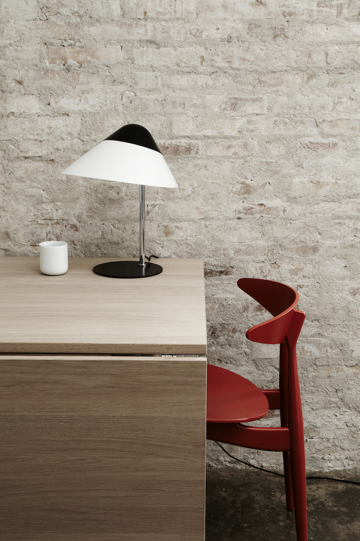 Tidssvarende lampe de table Opala, Hans Wegner - Pandul YU-26
