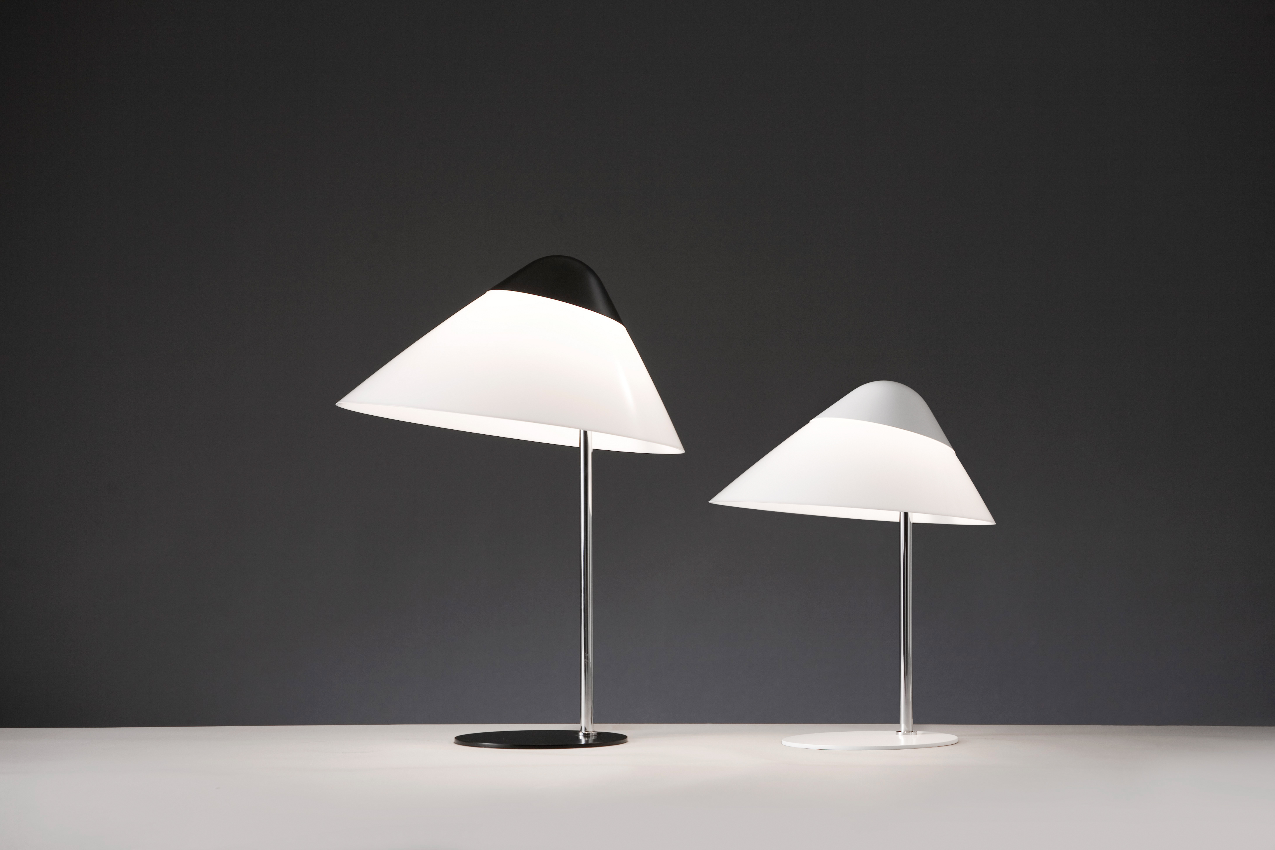 Velsete lampe de table Opala, Hans Wegner - Pandul FM-72