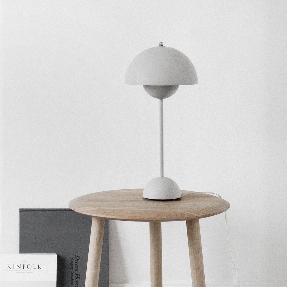 Flowerpot Vp3 Table Lamp Verner Panton Amp Tradition