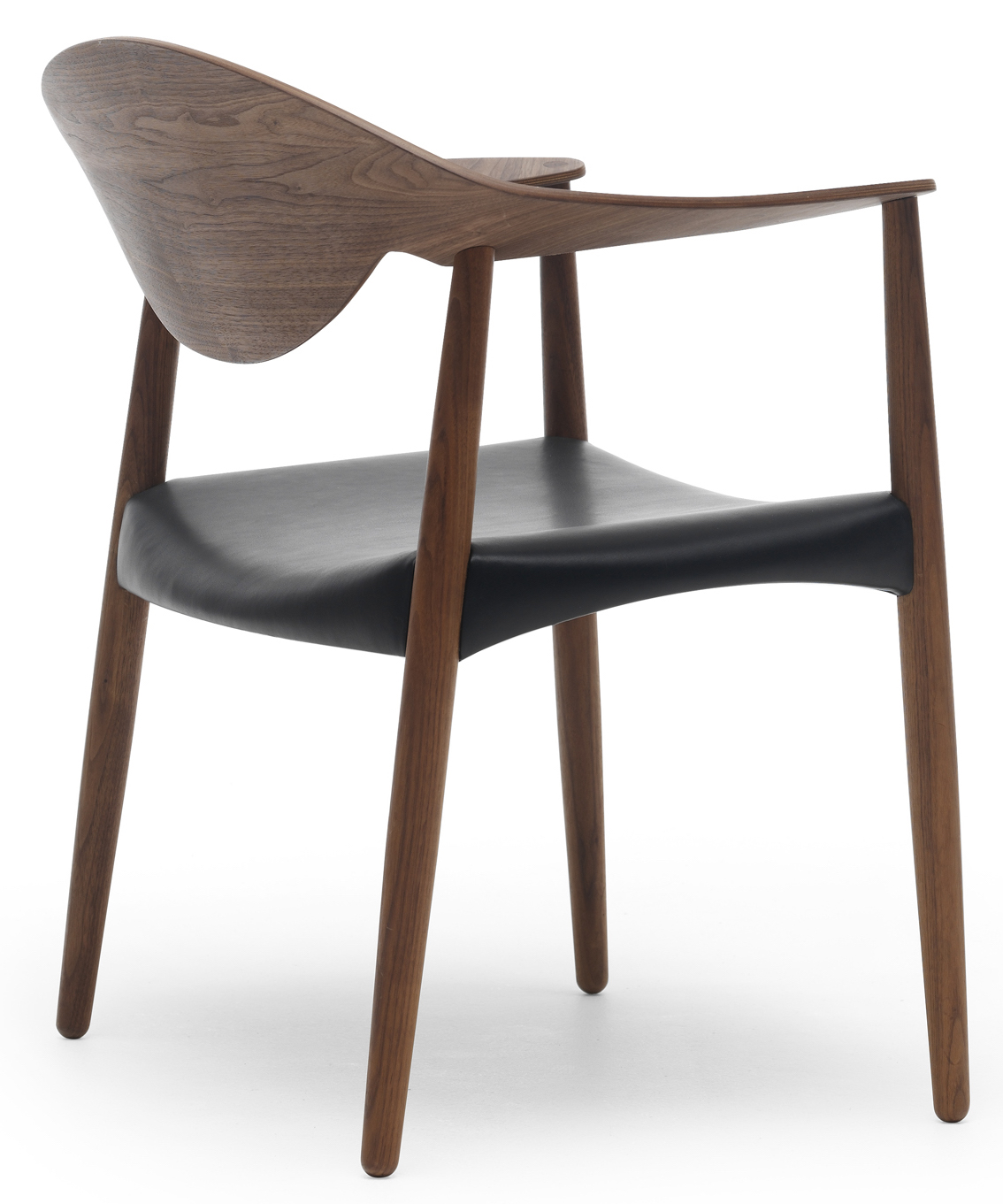 Metropolitan Chair with Wooden back Carl Hansen & Son