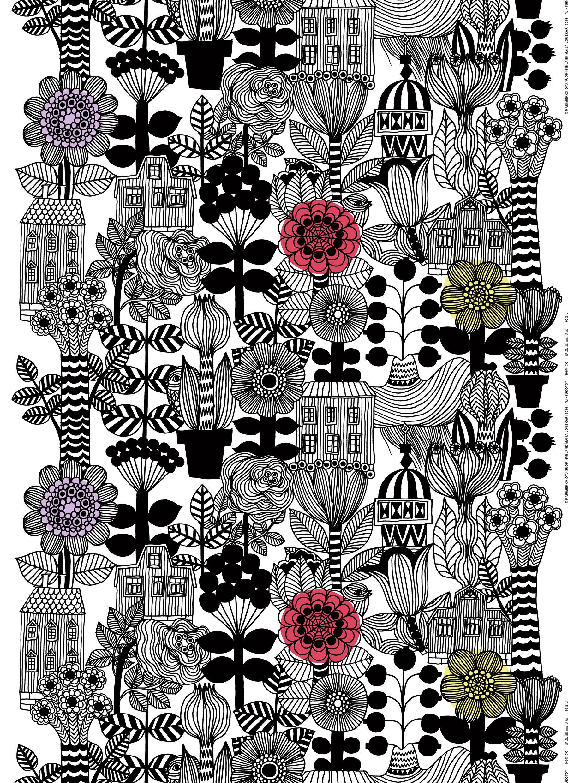 Marimekko Lintukoto fabric