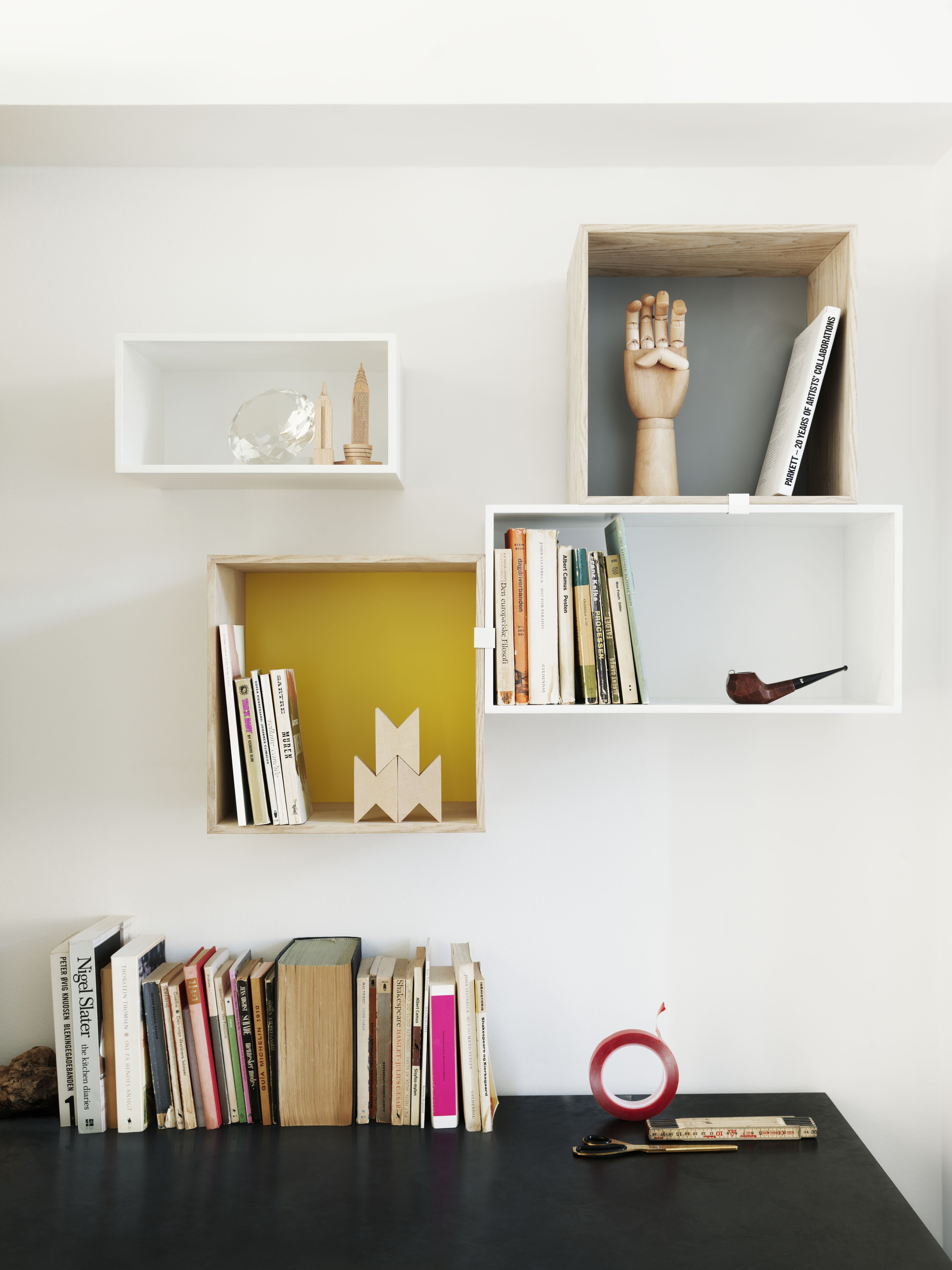 Muuto Mini Stacked Wall Shelving System J De Smedt