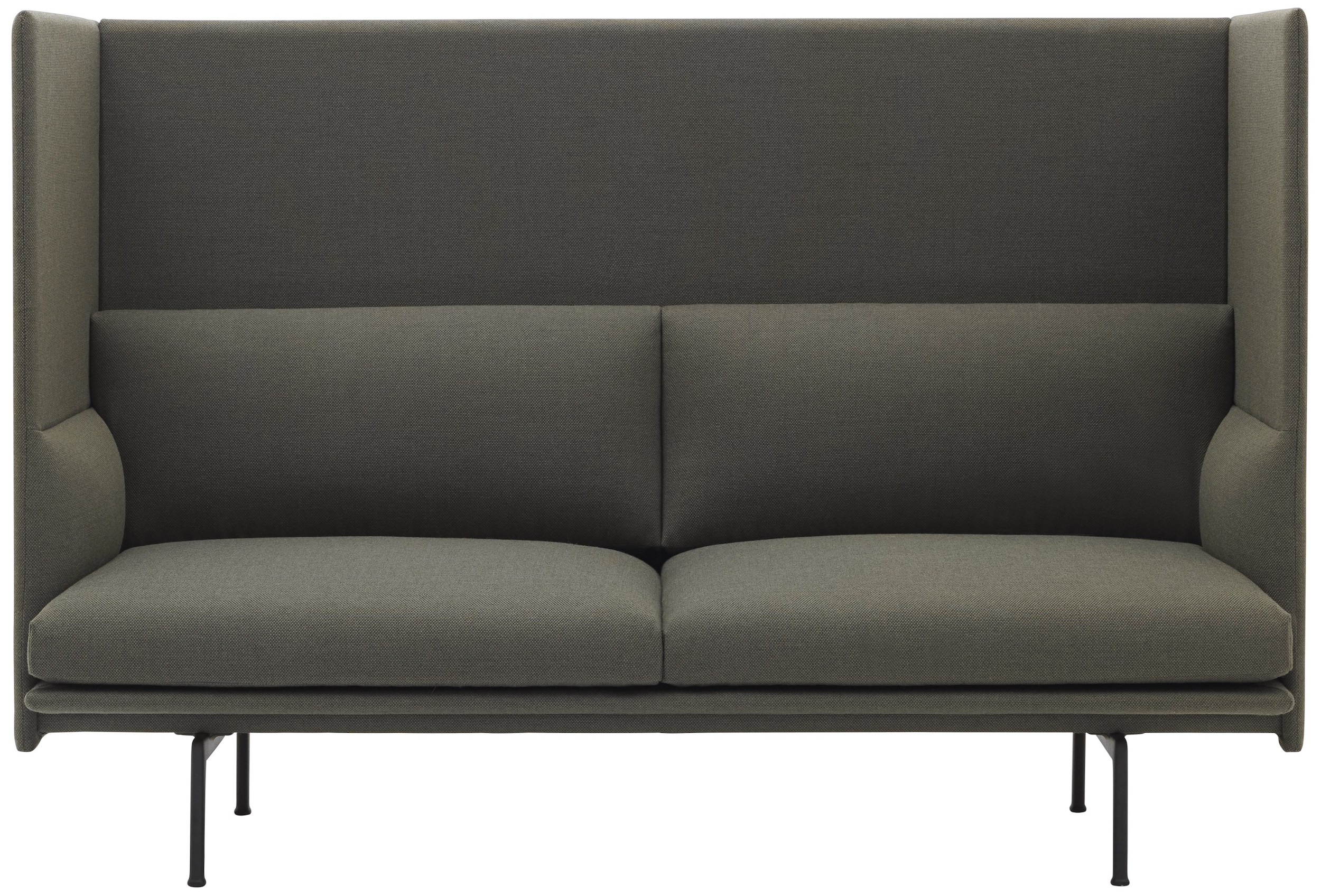 muuto outline highback sofa en