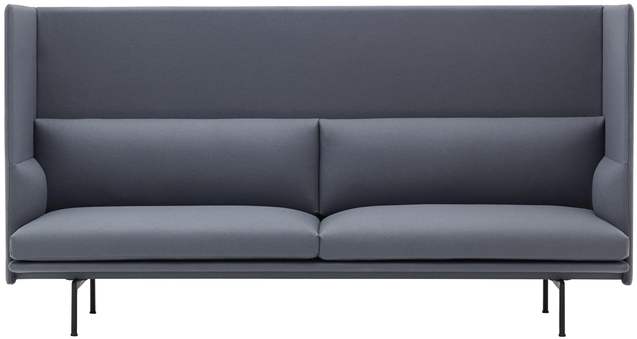 Muuto - Outline Highback sofa – design Anderssen & Voll, 2018