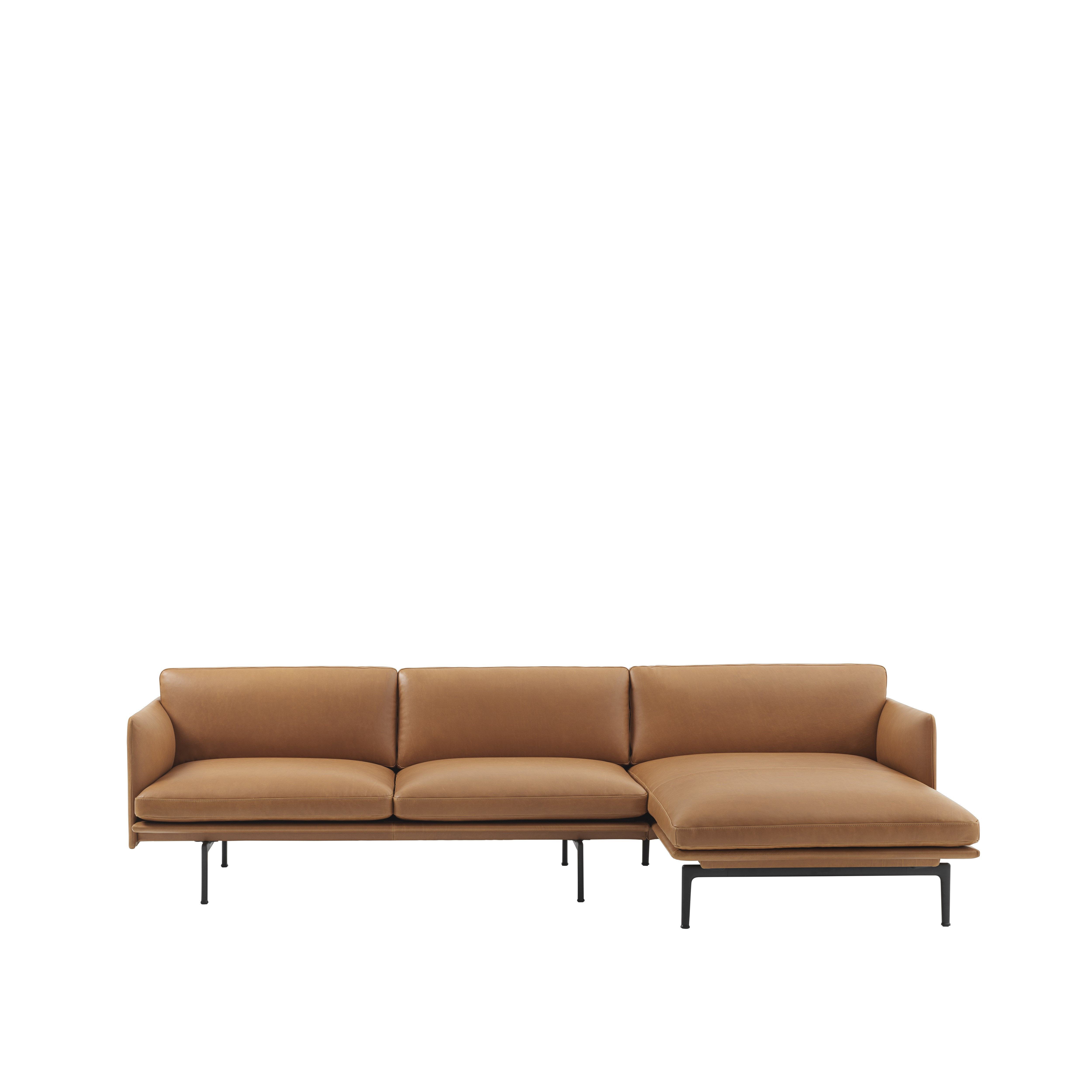 Muuto canap outline sofa chaise longue anderssen voll for Sofa chaise longue