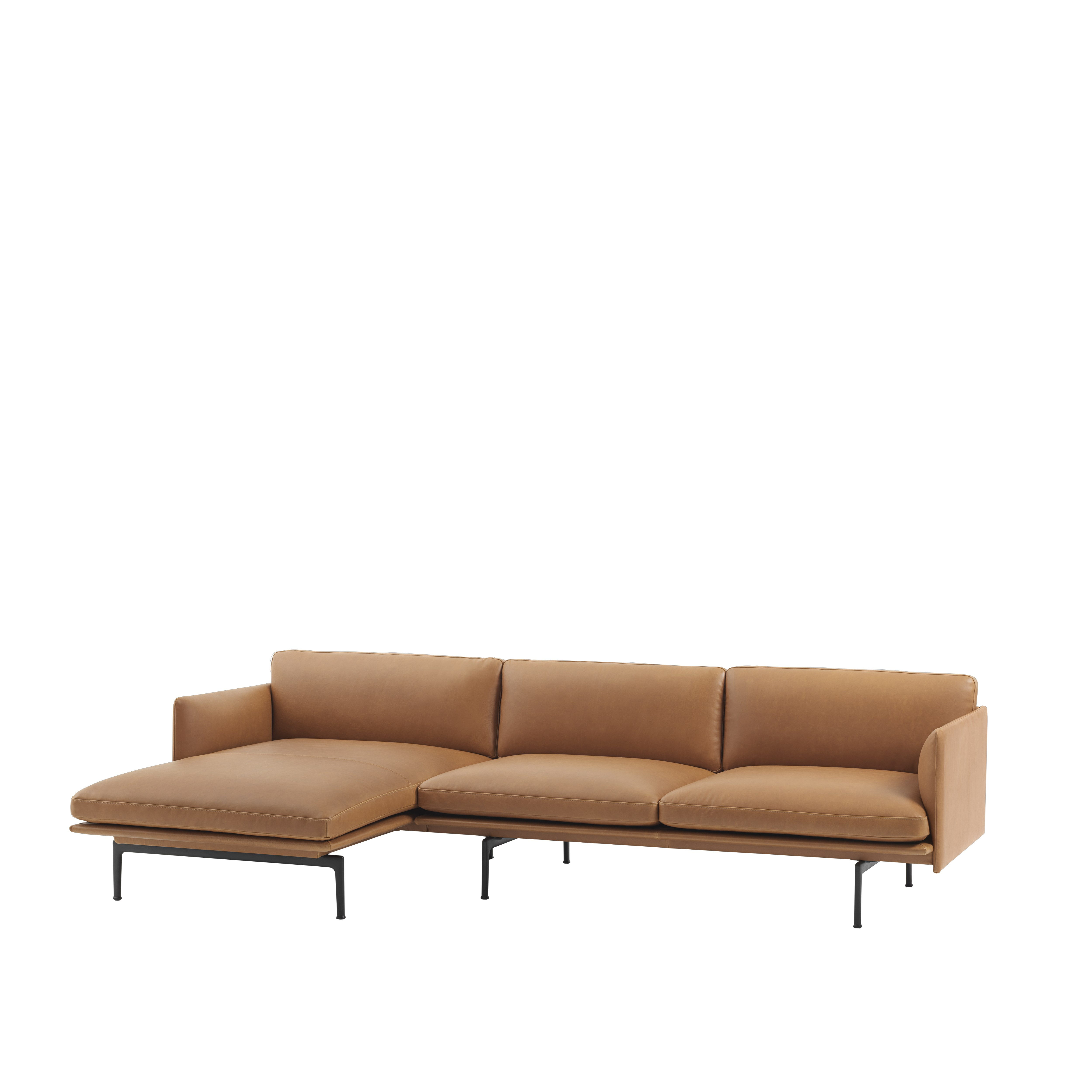 muuto canap outline sofa chaise longue anderssen voll. Black Bedroom Furniture Sets. Home Design Ideas