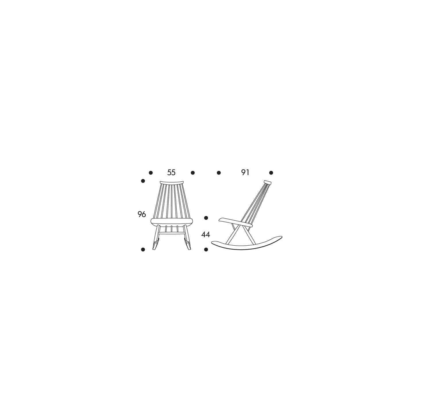 Artek Rocking Chair Et Fauteuil Mademoiselle Design