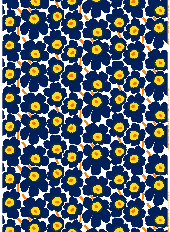 Marimekko pieni unikko cotton coated cotton for Scandic design