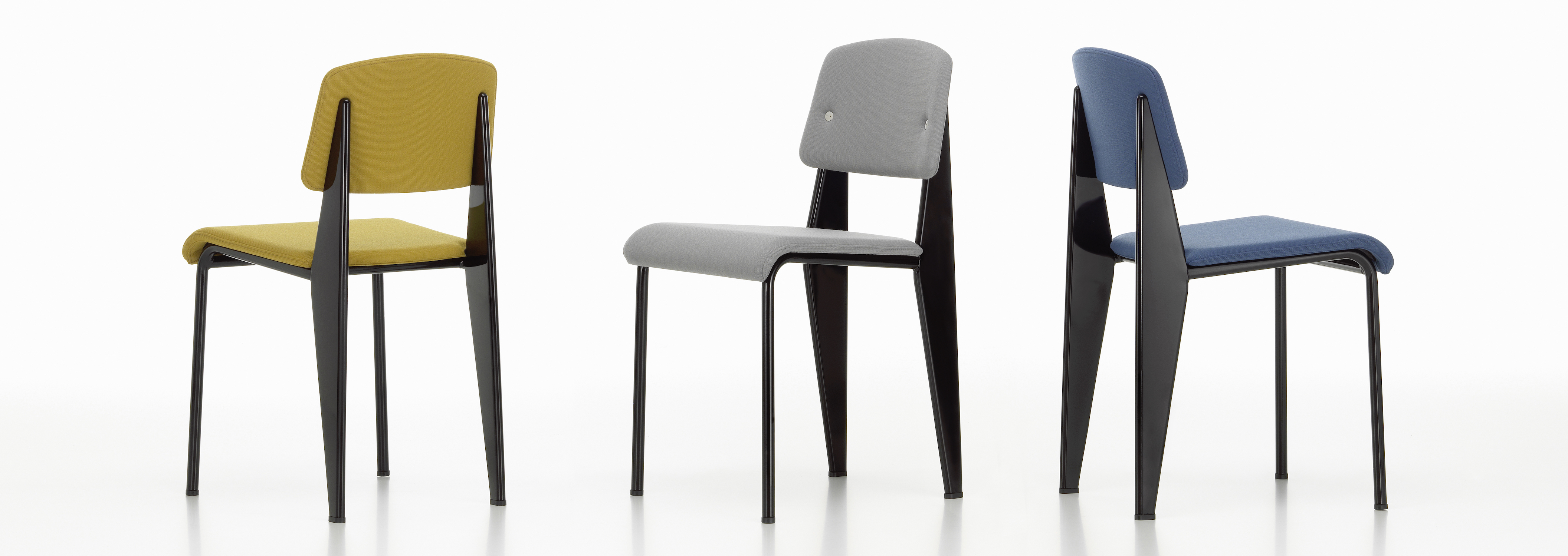 Vitra standard sr chair jean prouv - Chaise standard jean prouve ...