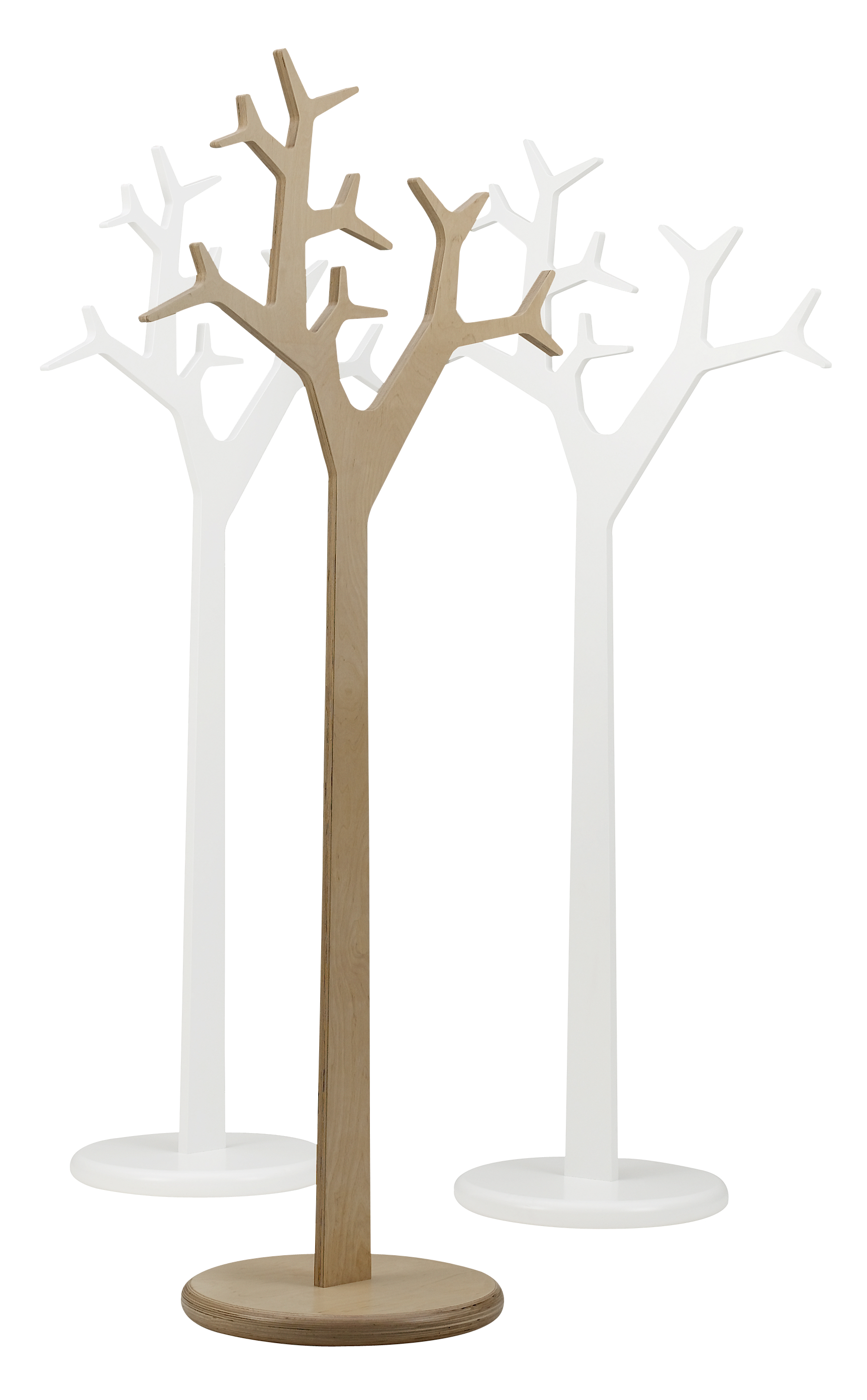 Tree coat stand swedese mobler for Porte manteau