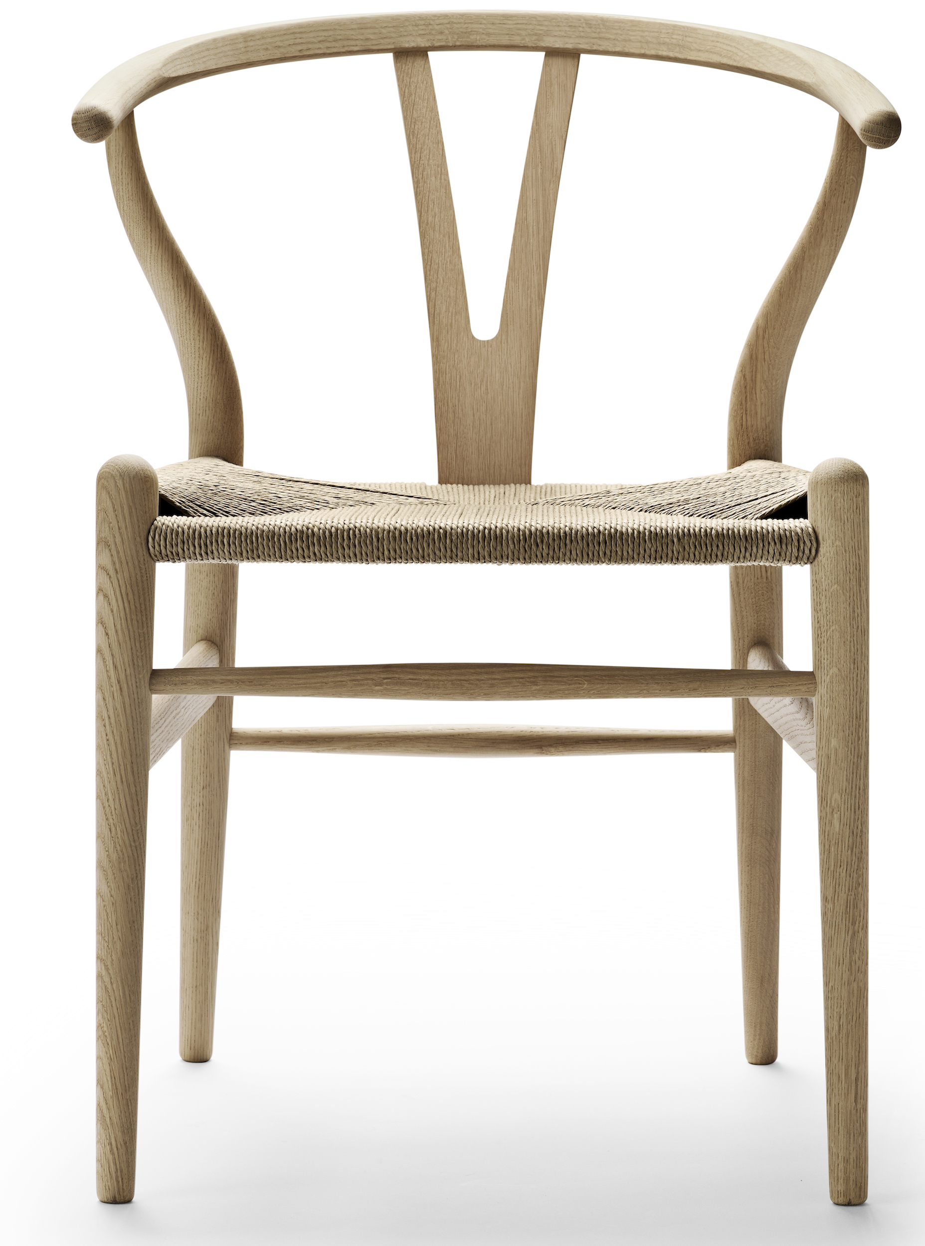 CH24 Chair   Or Wishbone Chair, Referring To His Back Recording A  Breastbone Of Chicken   Is One Of The Most Popular Chairs By Hans Wegner.