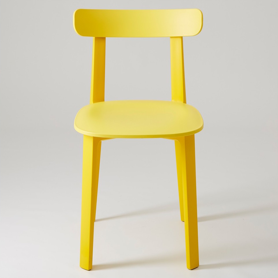 vitra all plastic chair jasper morrison. Black Bedroom Furniture Sets. Home Design Ideas