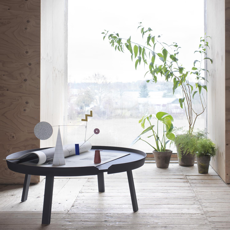 Muuto table basse around thomas bentzen for Scandic design