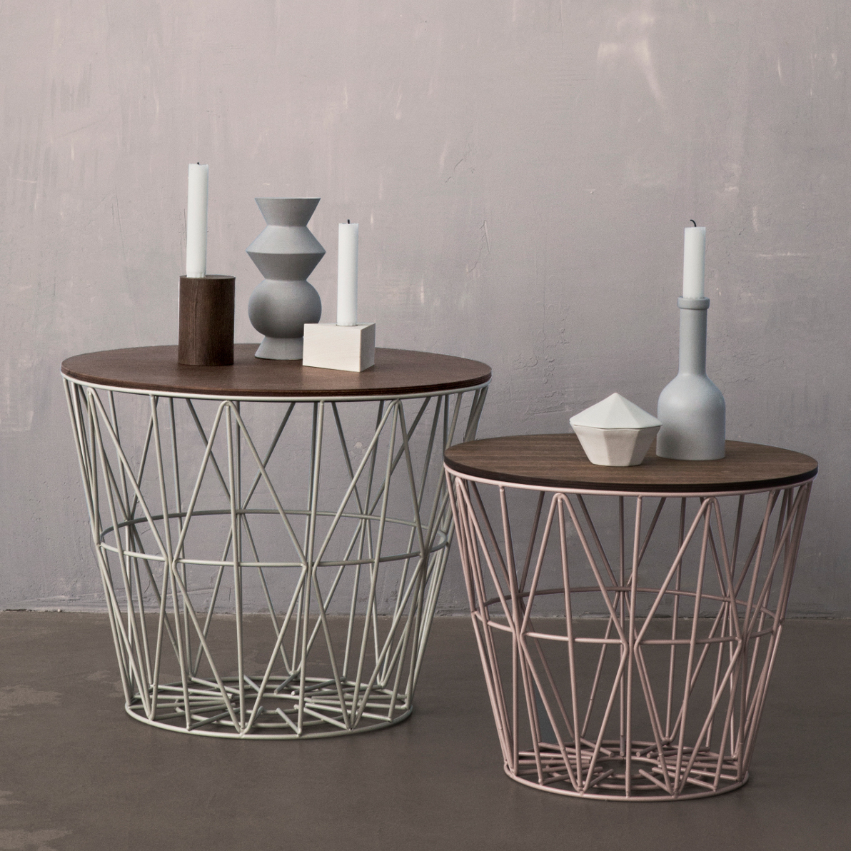 Picture of: Ferm Living Wire Basket