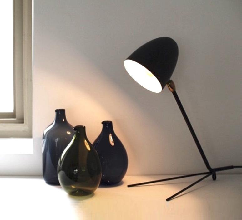 Fabuleux Serge Mouille - lampes de table et de bureau EK12