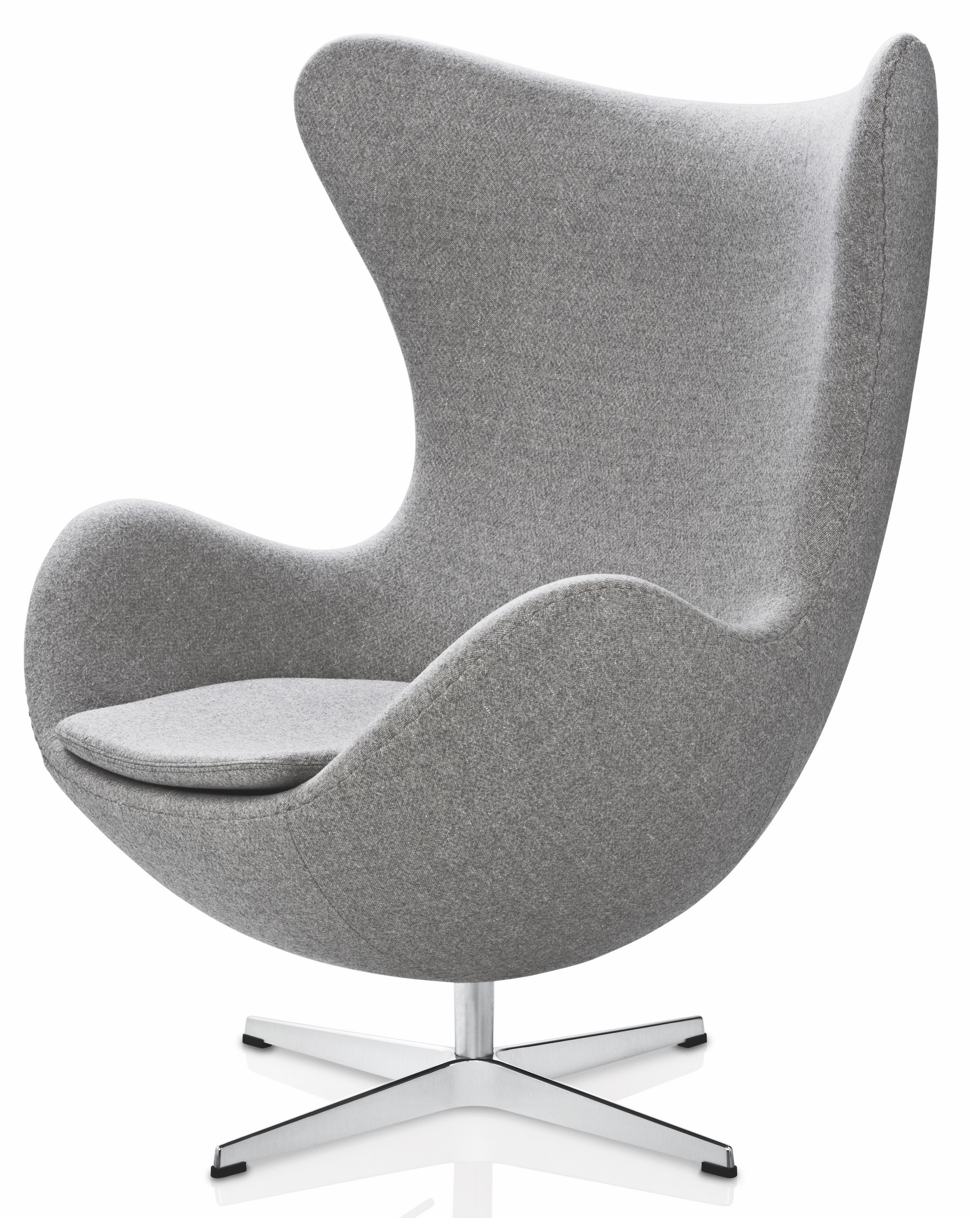 arne jacobsen designed the egg chair for the lobby and reception areas in the royal hotel in copenhagen the commission to design every element of the - Fauteuil Egg Jacobsen