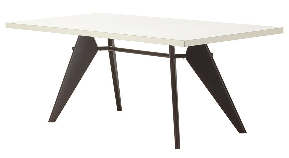 Vitra Em Table With Hpl Tabletop Jean Prouv