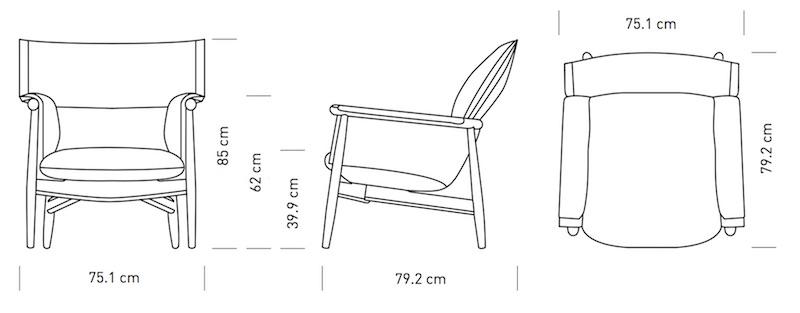 Carl Hansen Amp S 248 N Embrace Lounge Chair E015 Design Eoos