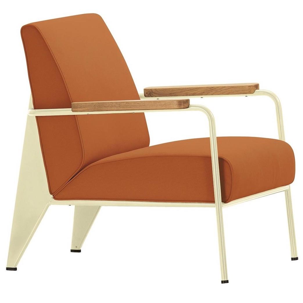 Vitra fauteuil de salon jean prouv for Fauteuil design vitra