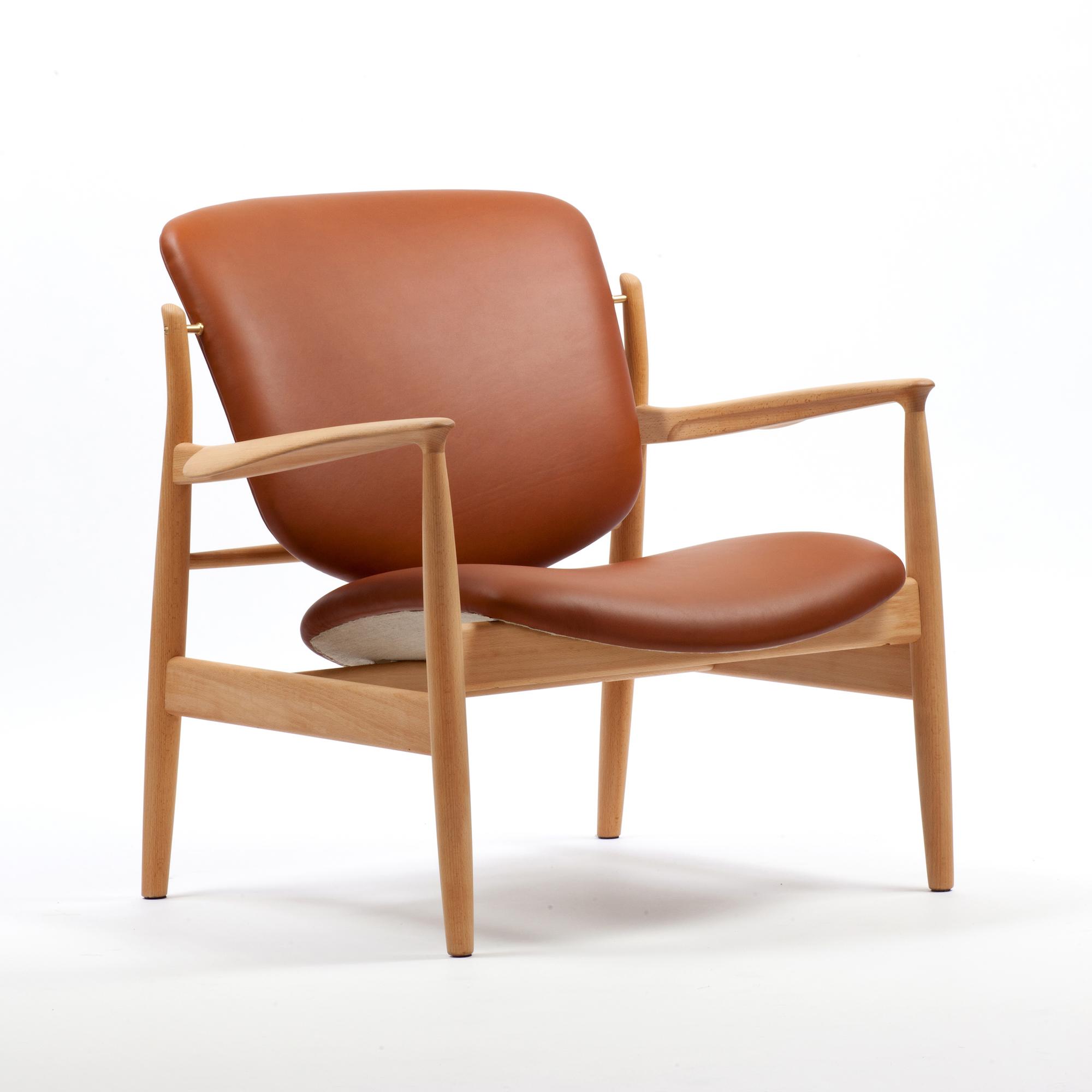 House of finn juhl fauteuil france chair finn juhl for House pour fauteuil