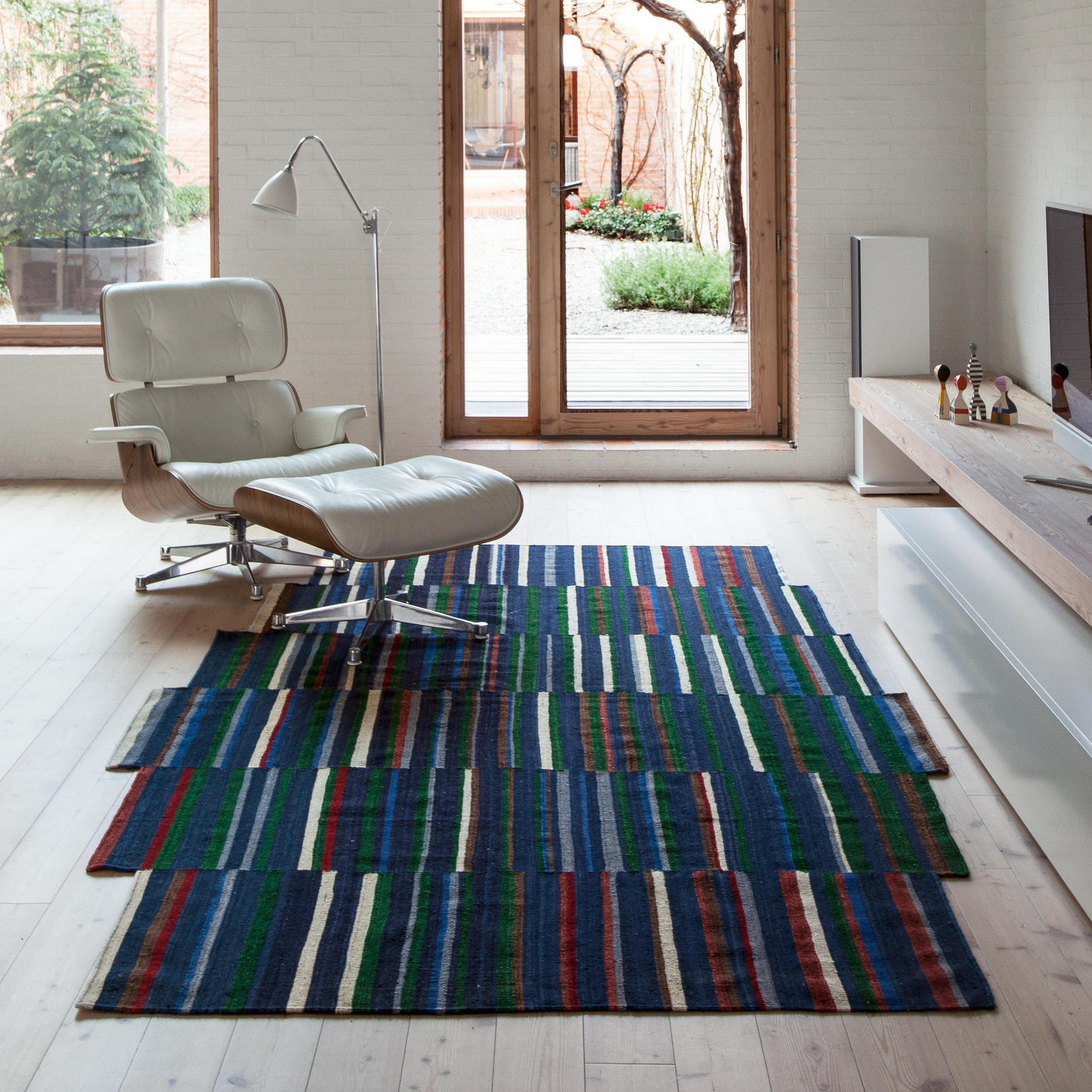 Nanimarquina tapis lattice design ronan erwan bouroullec for Scandic design