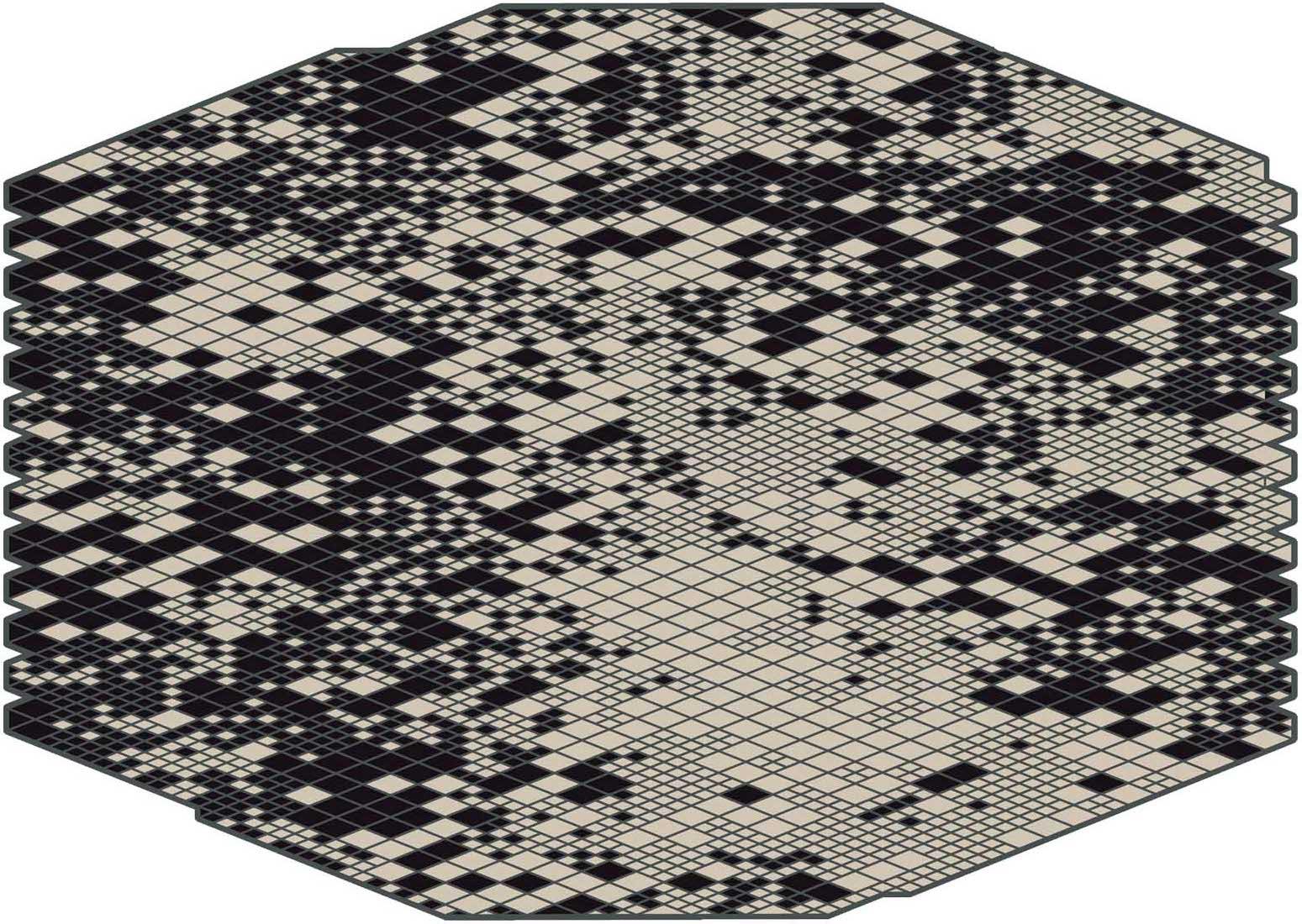 Nanimarquina losanges rugs for Scandic design
