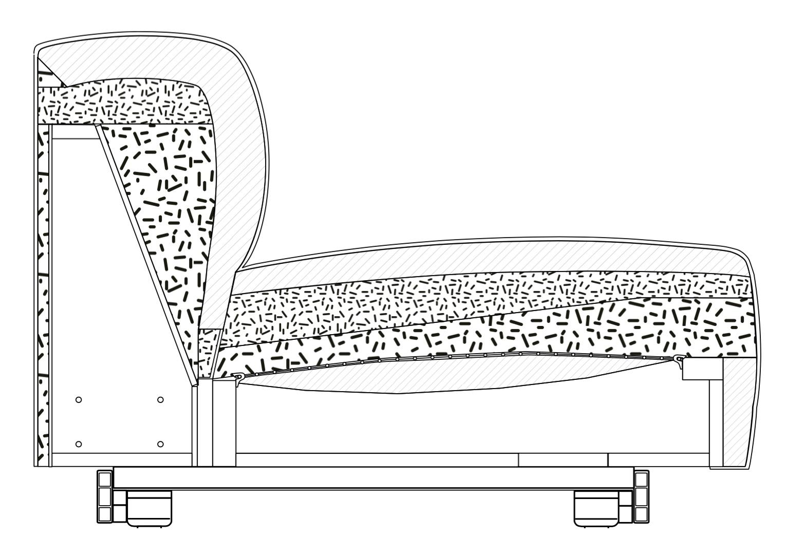 Vitra soft modular sofa jasper morrison for Fabrication d un canape